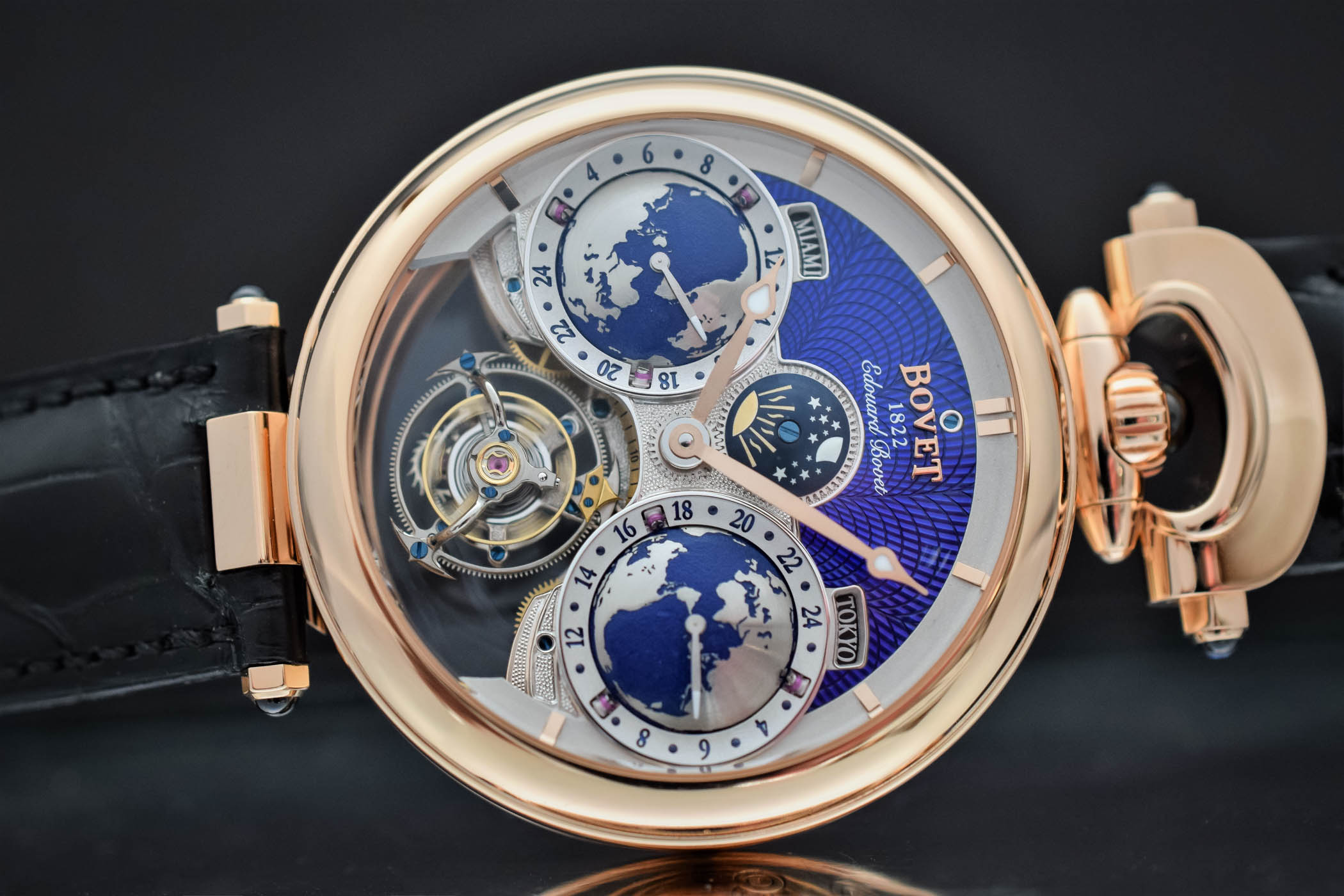 Bovet Amadeo Fleurier Edouard Bovet Flying Tourbillon - SIHH 2018