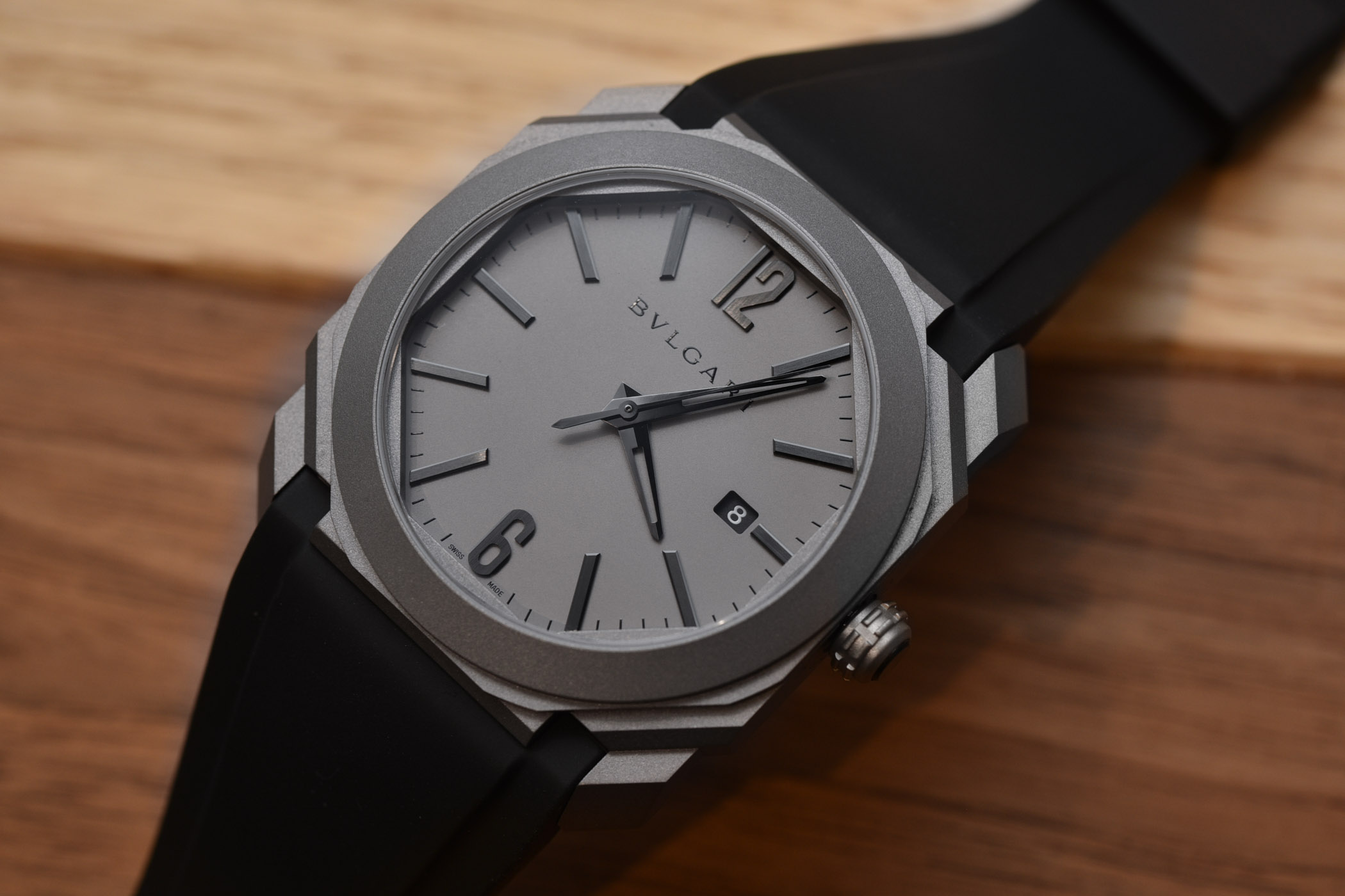 0adfe41f0dd The New Bulgari Octo l Originale Solotempo in full Titanium ...