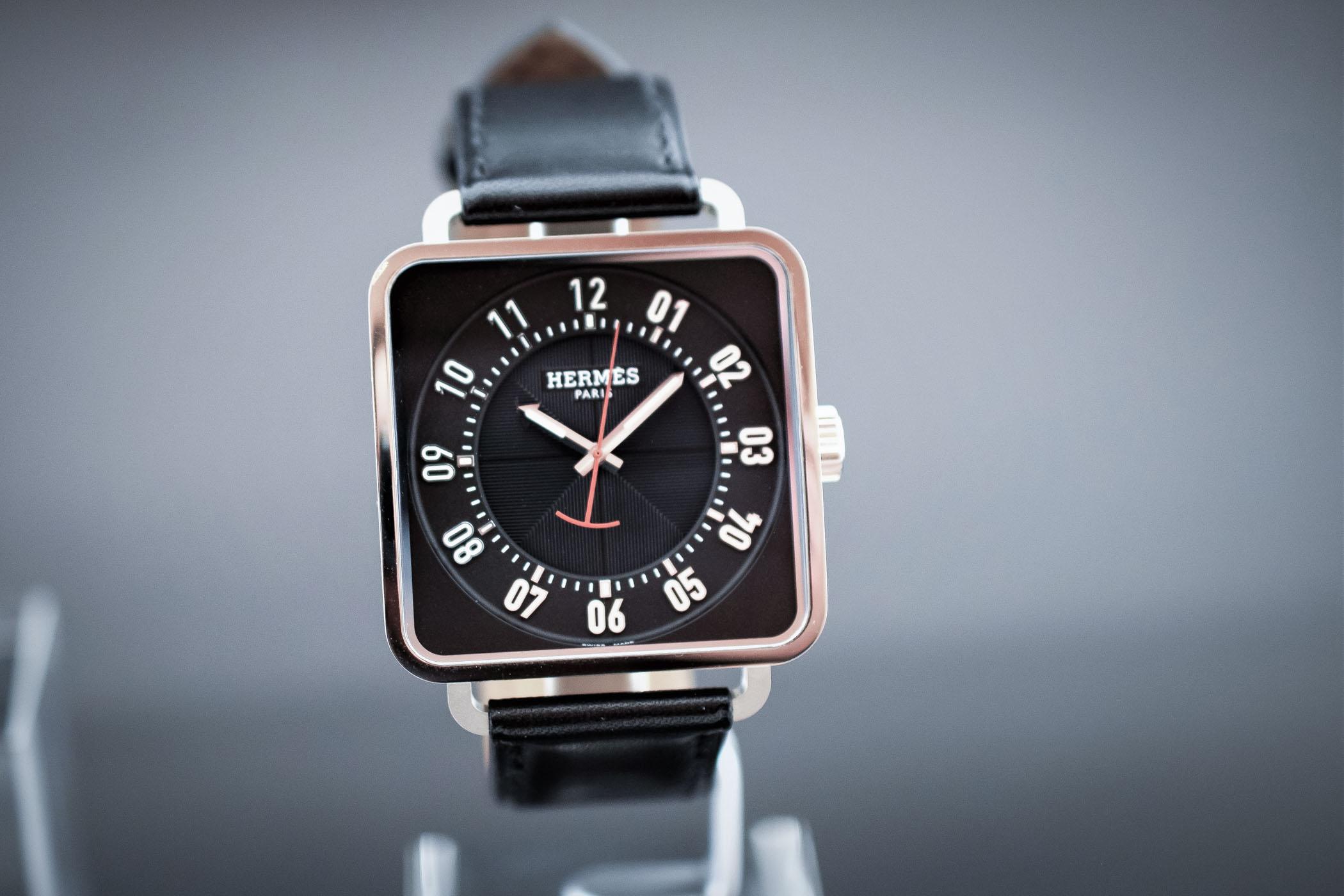 Hermès Carré H Watch Design by Marc Berthier - SIHH 2018 Hands-On ... e98d79cd96a36