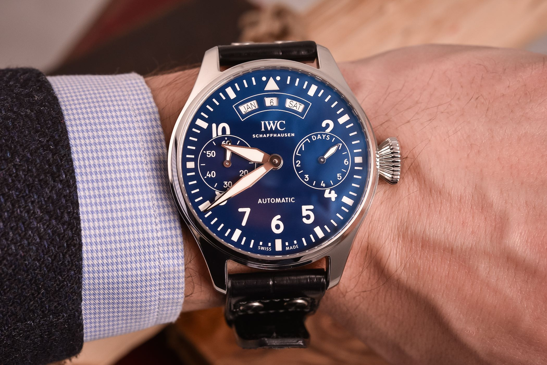 IWC Big Pilot's Watch Annual Calendar Edition 150 Years - SIHH 2018