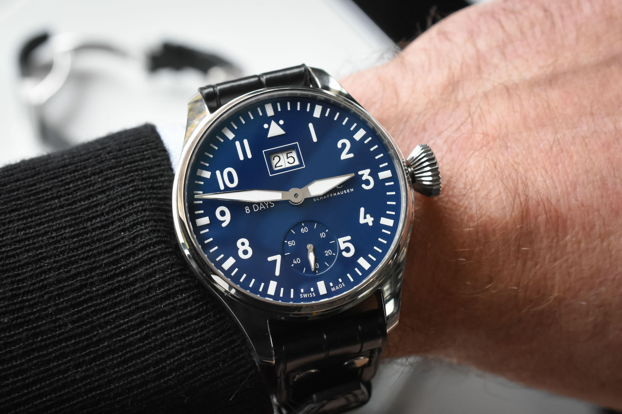 IWC Big Pilot's Watch Big Date Edition 150 Years Ref. 5105 - SIHH 2018