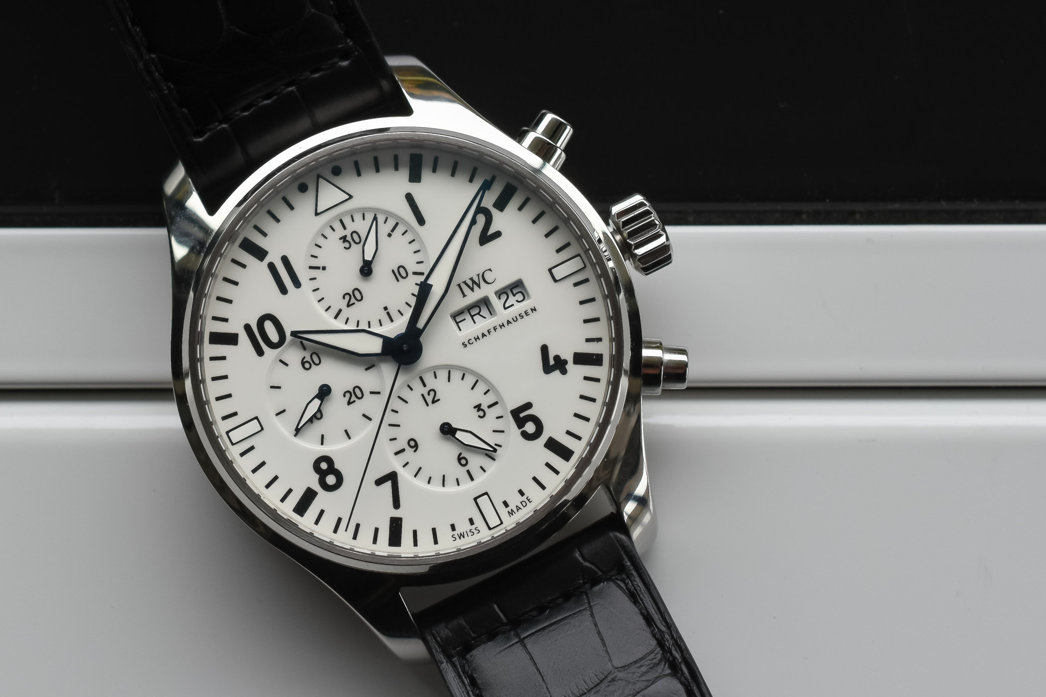 IWC Pilot's Watch Chronograph Edition 150 Years IW377725 - SIHH 2018