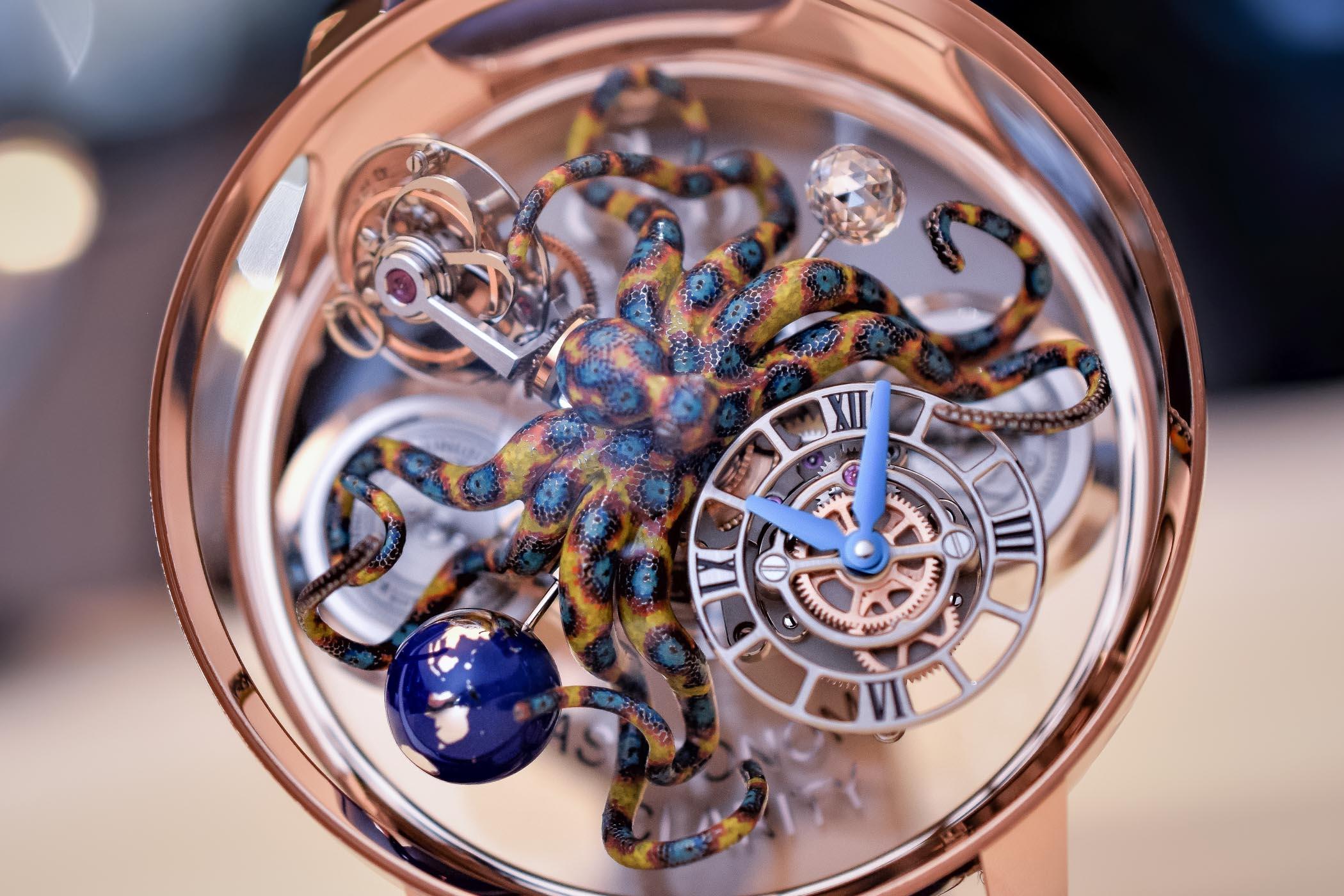 Jacob and Co Astronomia Tourbillon Clarity Octopus