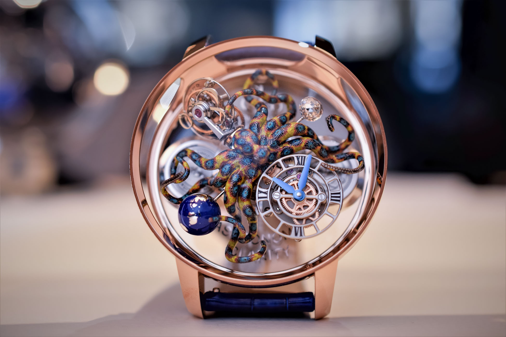 Jacob and Co Astronomia Tourbillon Clarity Octopus