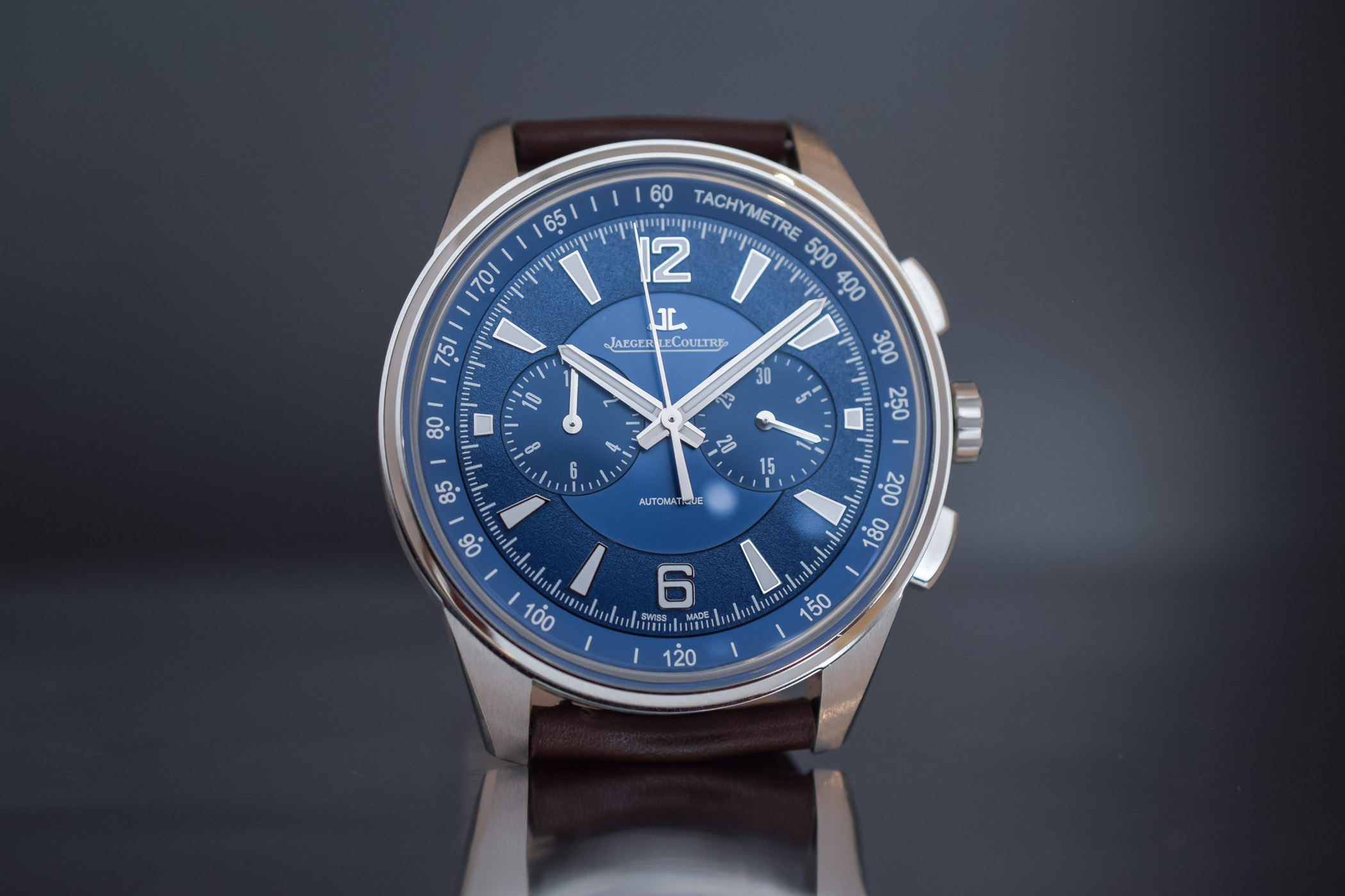 Jaeger LeCoultre Polaris Chronograph 2018 blue