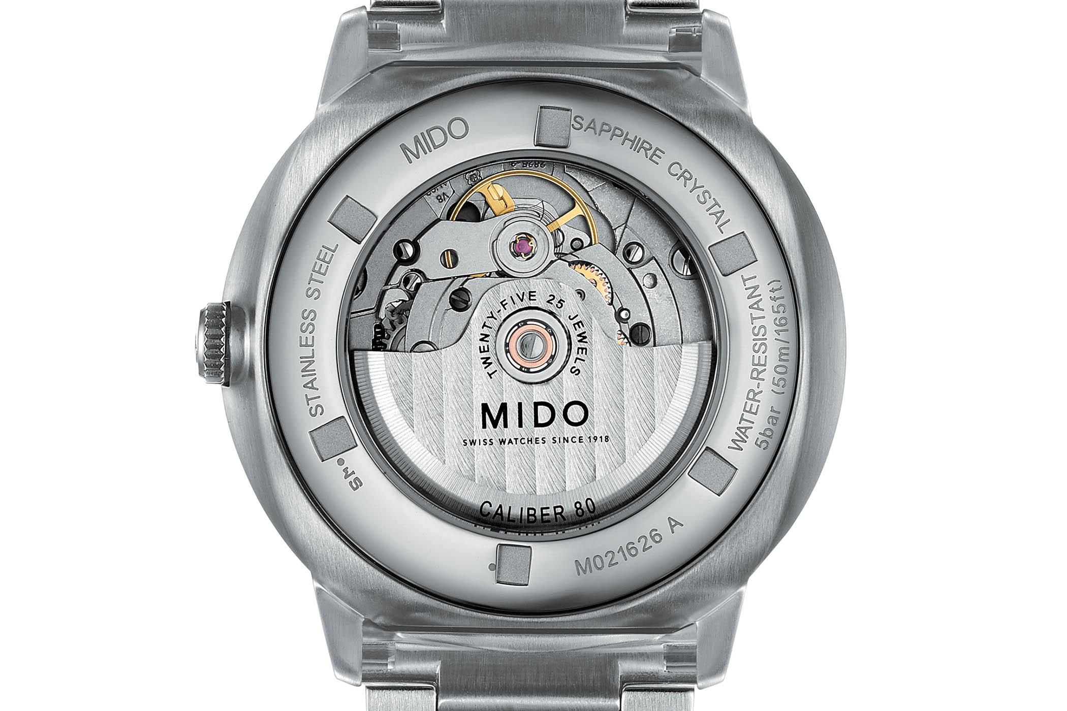 Mido Commander Big Date Centennial Celebration Watch