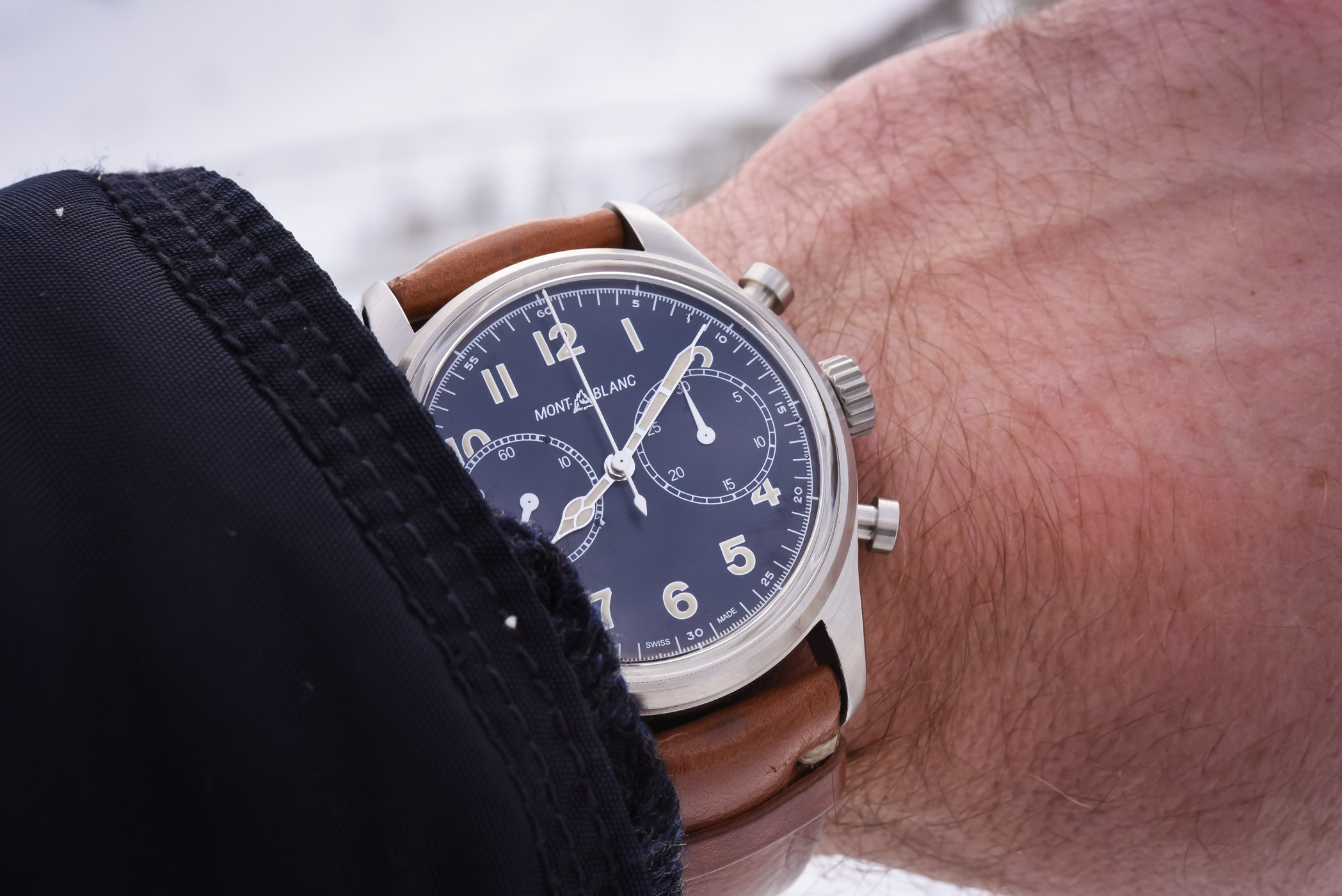 Montblanc 1858 Automatic Chronograph - SIHH 2018