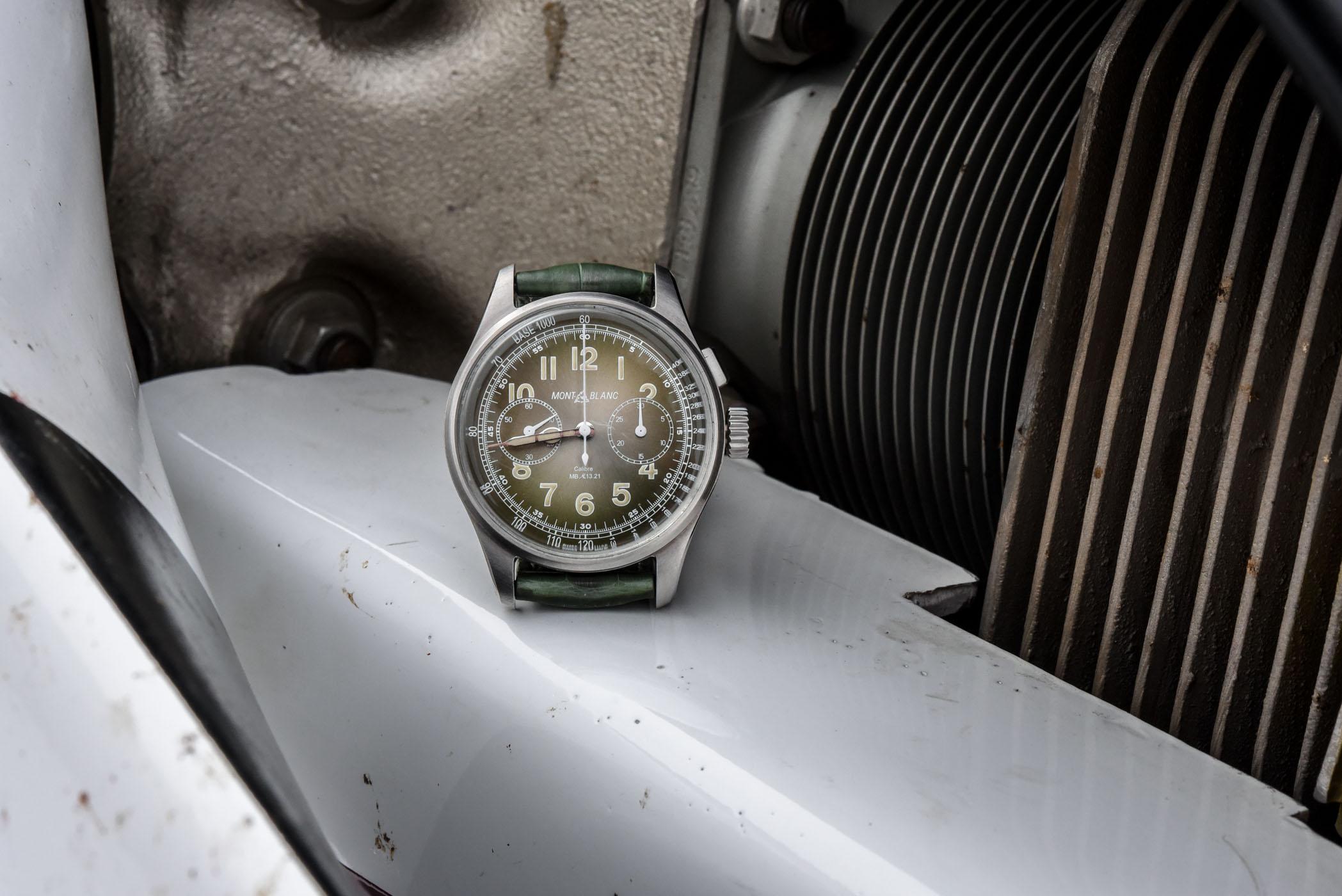 Montblanc 1858 Monopusher Chronograph LE100