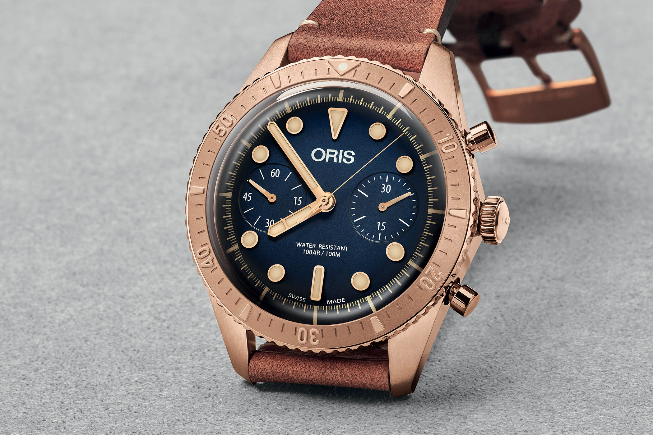 Oris Carl Brashear Chronograph Limited Edition Bronze