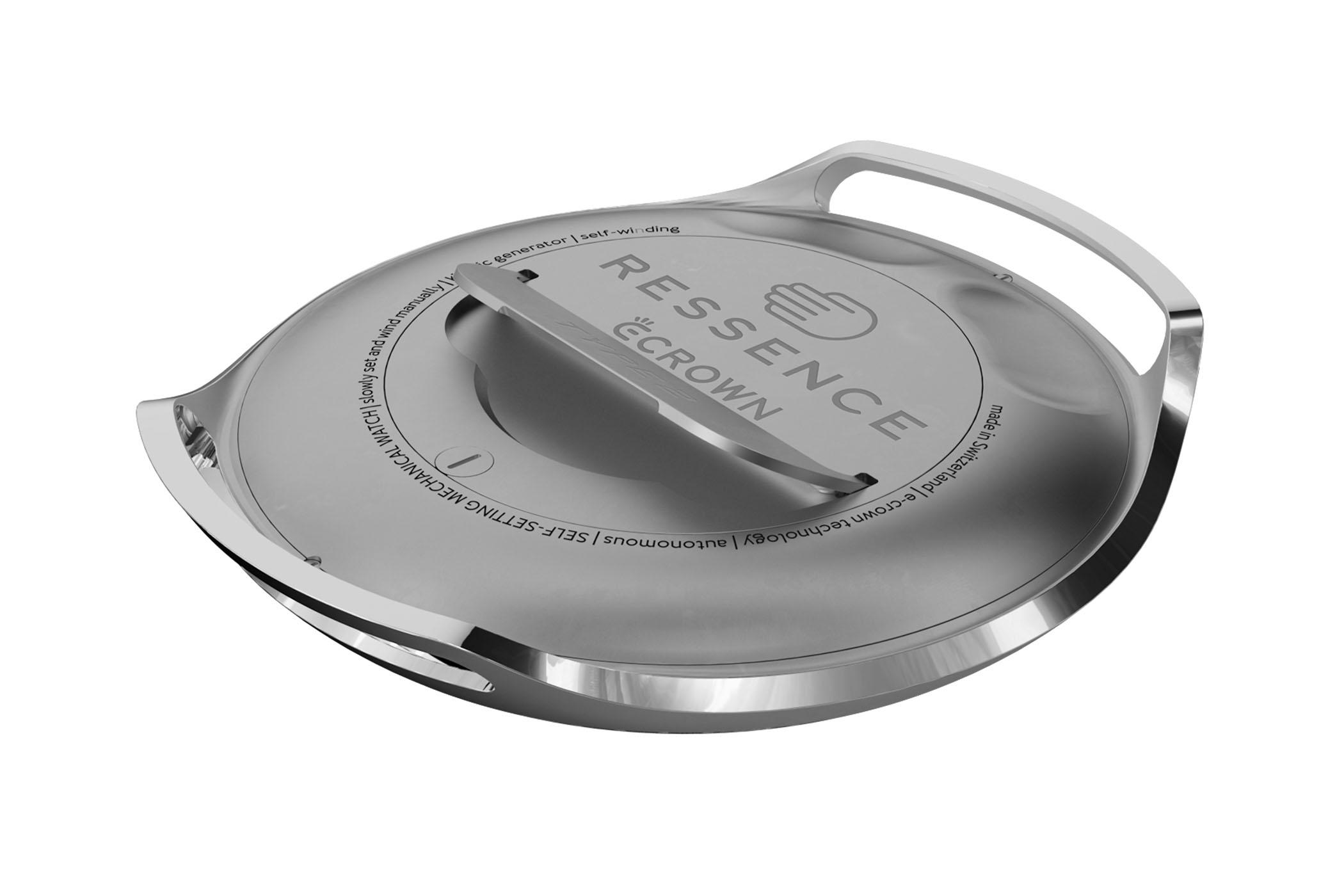 Ressence Type 2 E-Crown - first self-setting mechanical watch