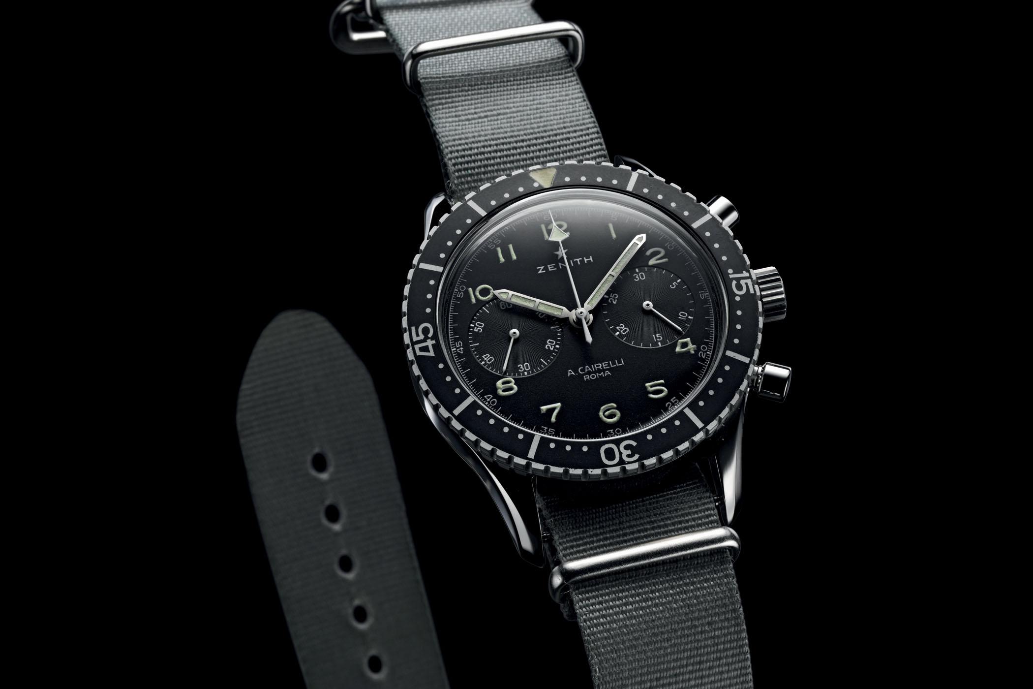 Zenith Cronometro Tipo CP-2 Cairelli vintage