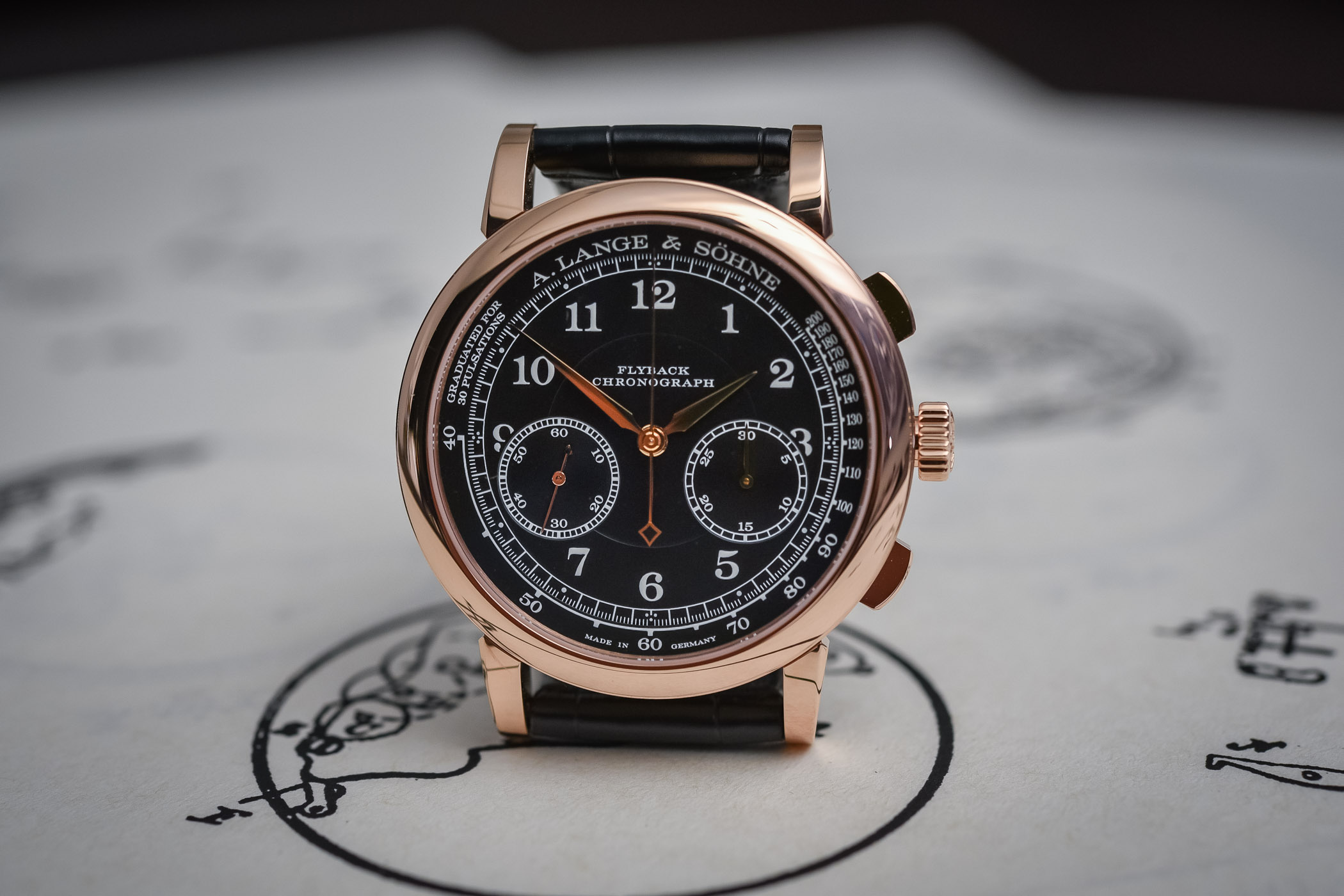 The Battle of High-End Chronographs Part 2 – A. Lange & Söhne 1815 Chronograph