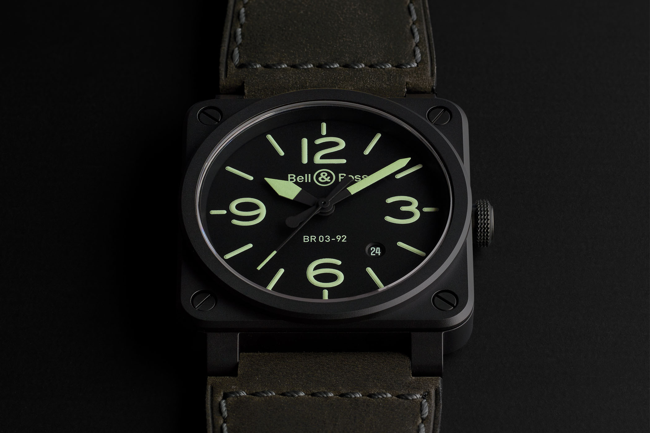 Bell and Ross BR03-92 Nightlum - Pre-Baselworld 2018