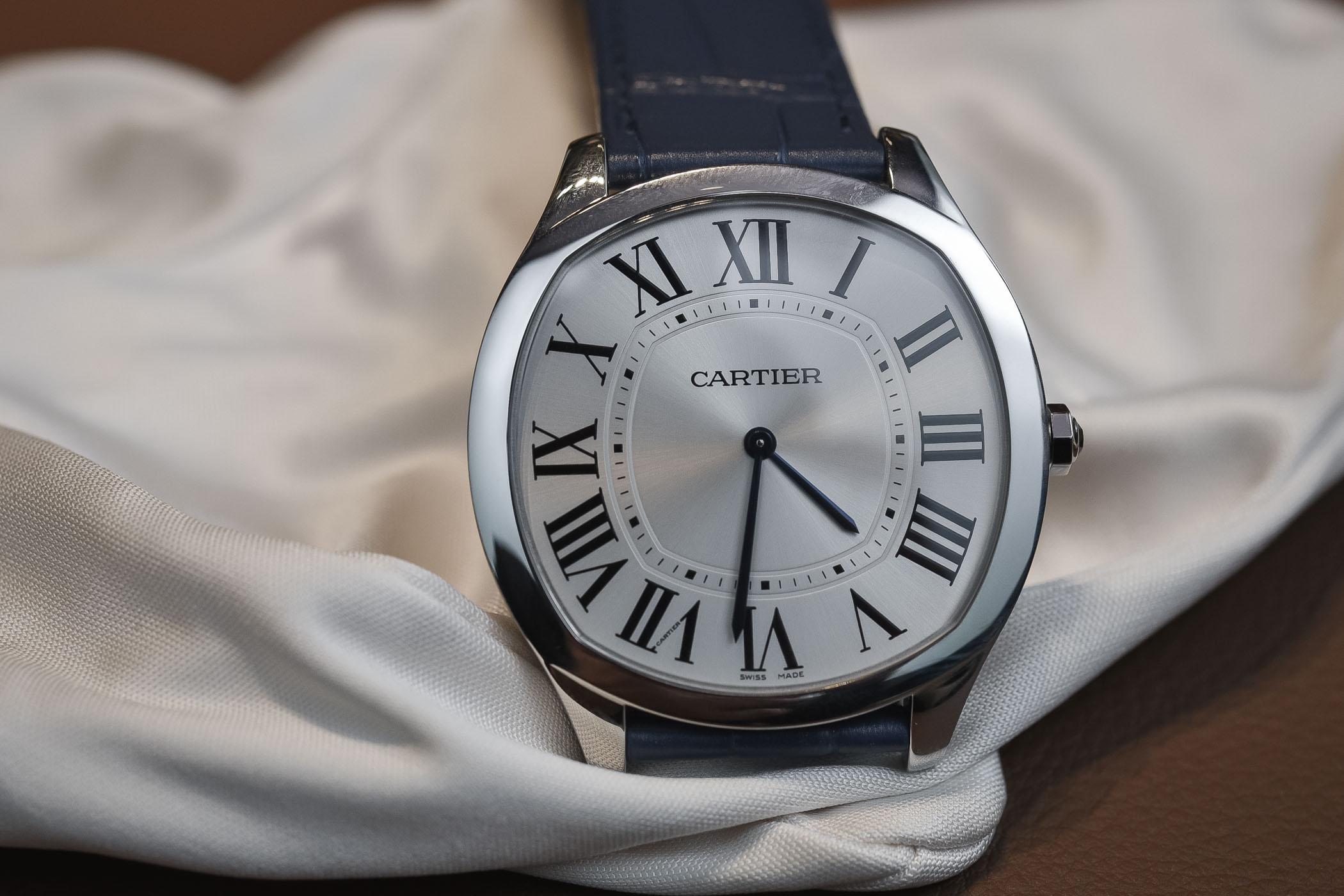 Cartier Drive de Cartier Extra-Flat Steel