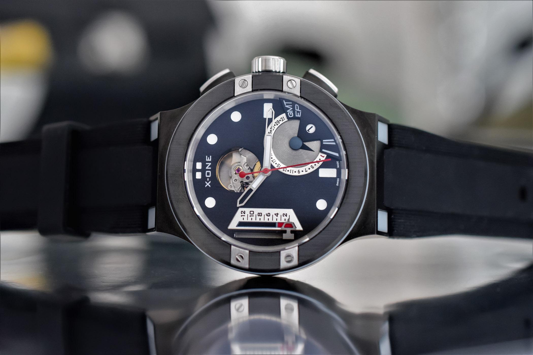 Conex Watches X-ONE H1 - Hybrid mechanical smartwatch