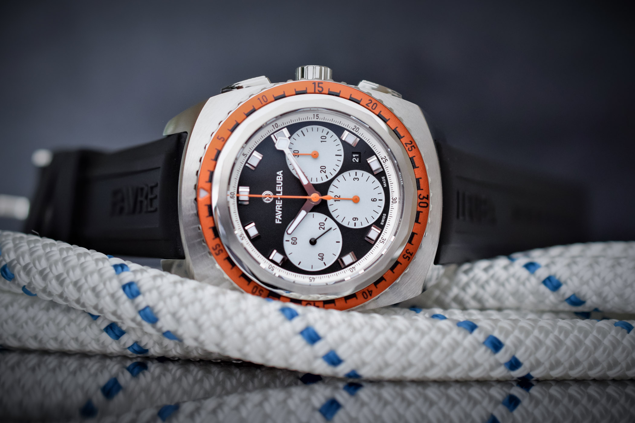 Favre-Leuba Raider Sea-Sky Diving Chronograph