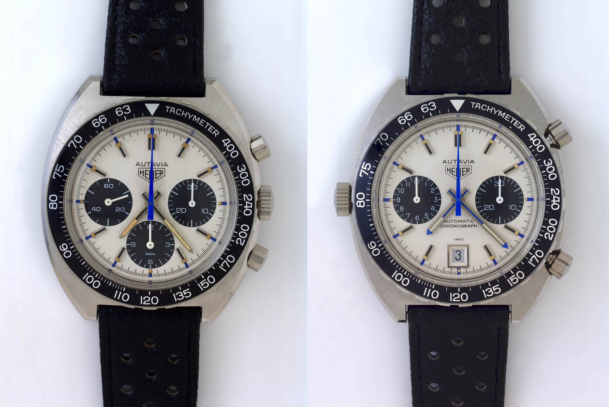 Heuer Autavia Siffert 73663 and 1163T