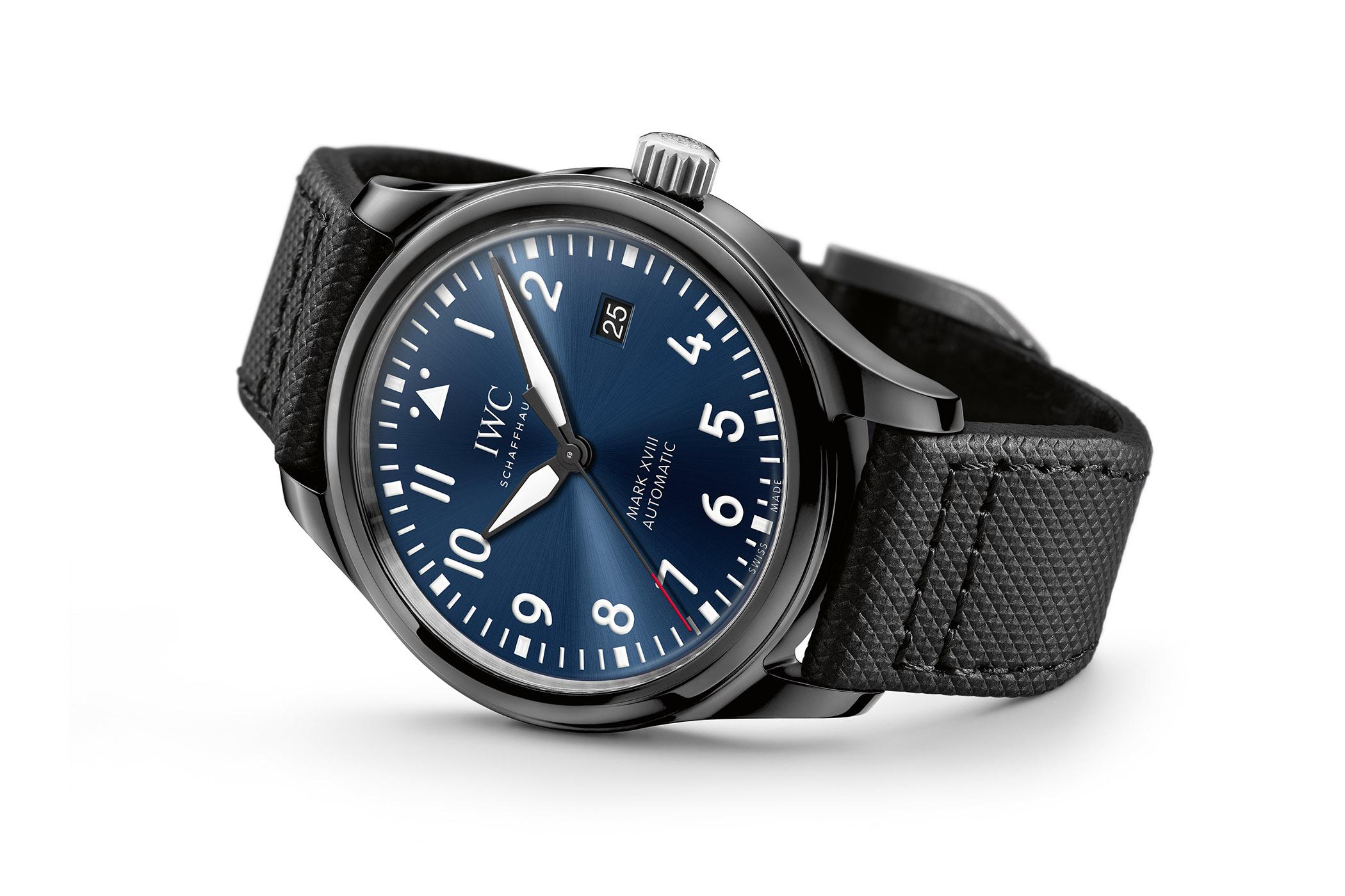 best sneakers 6ca5e a2d60 Introducing - IWC Pilot's Watch Mark XVIII Edition Laureus ...