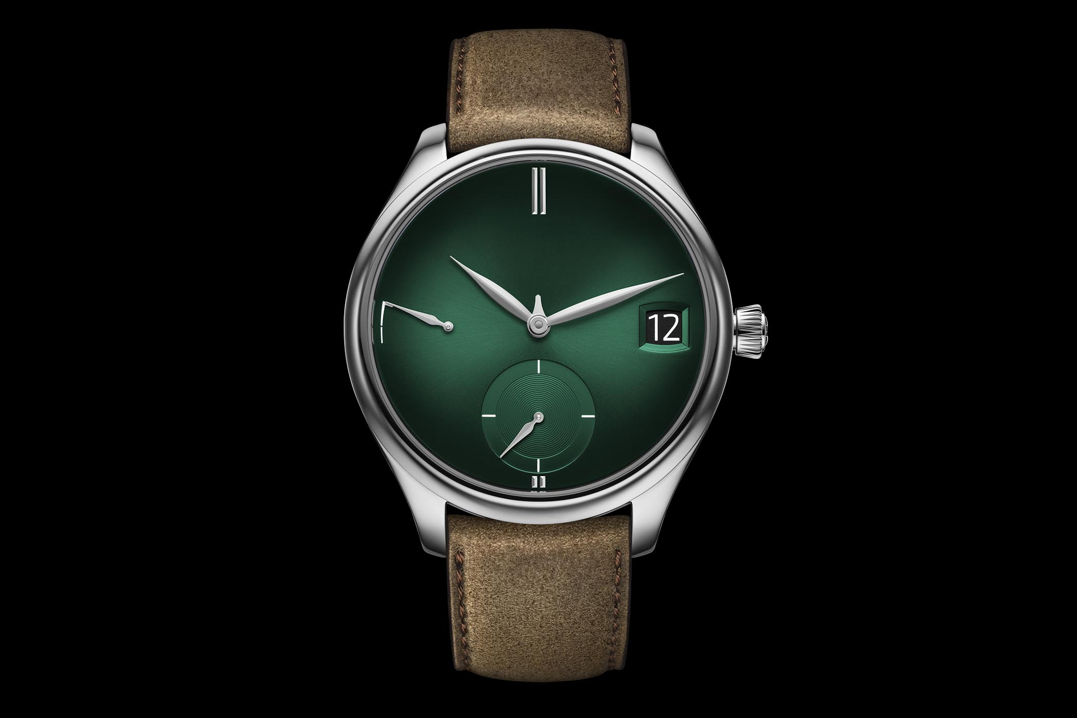 H Moser Cie Endeavour Perpetual Calendar Purity Cosmic Green - Pre-Baselworld 2018