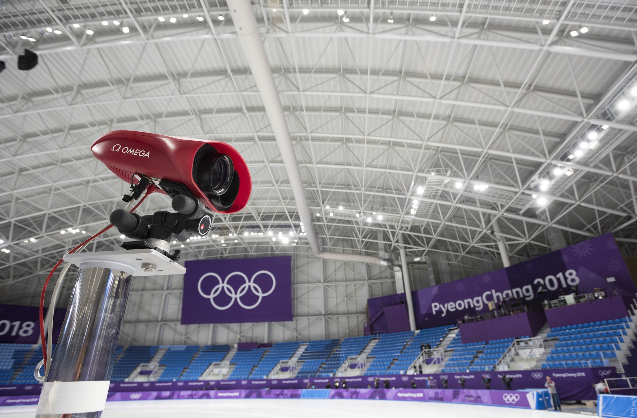 Omega Olympic Timekeeping Instruments PyeongChang 2018