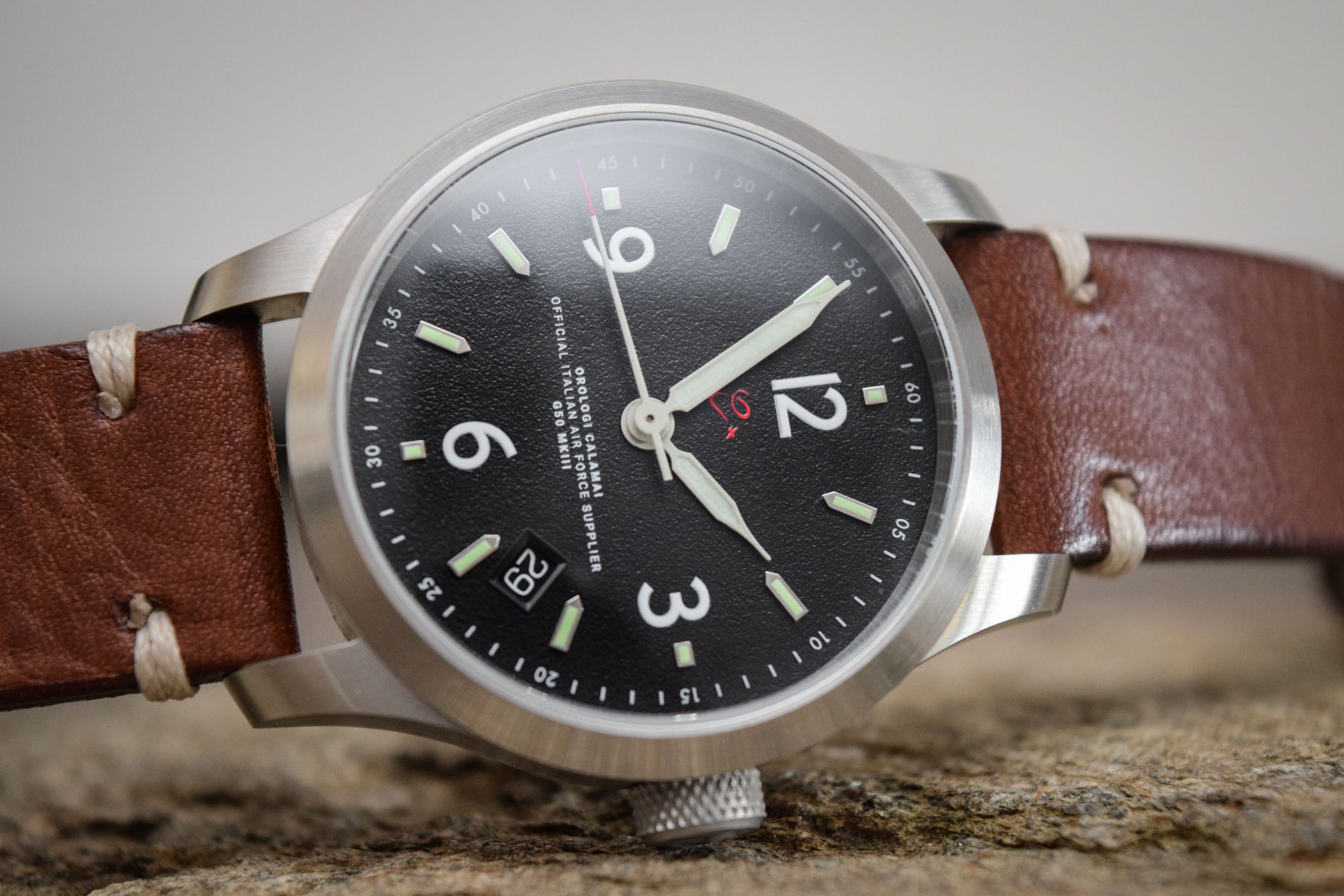 Orologi Calamai G50 MKIII Solotempo Pilot Watch