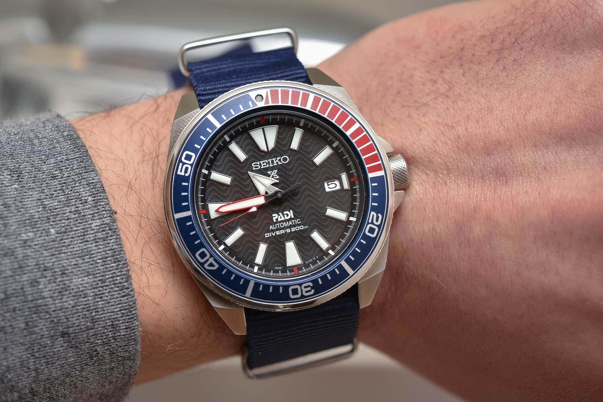 Seiko Prospex Automatic Diver Padi Samurai SRPB99J1 - Review