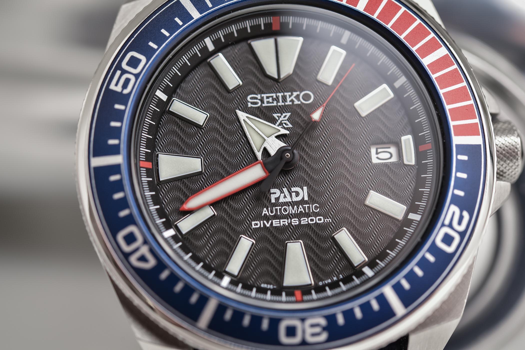 Seiko Prospex Automatic Diver Padi Samurai SRPB99J1