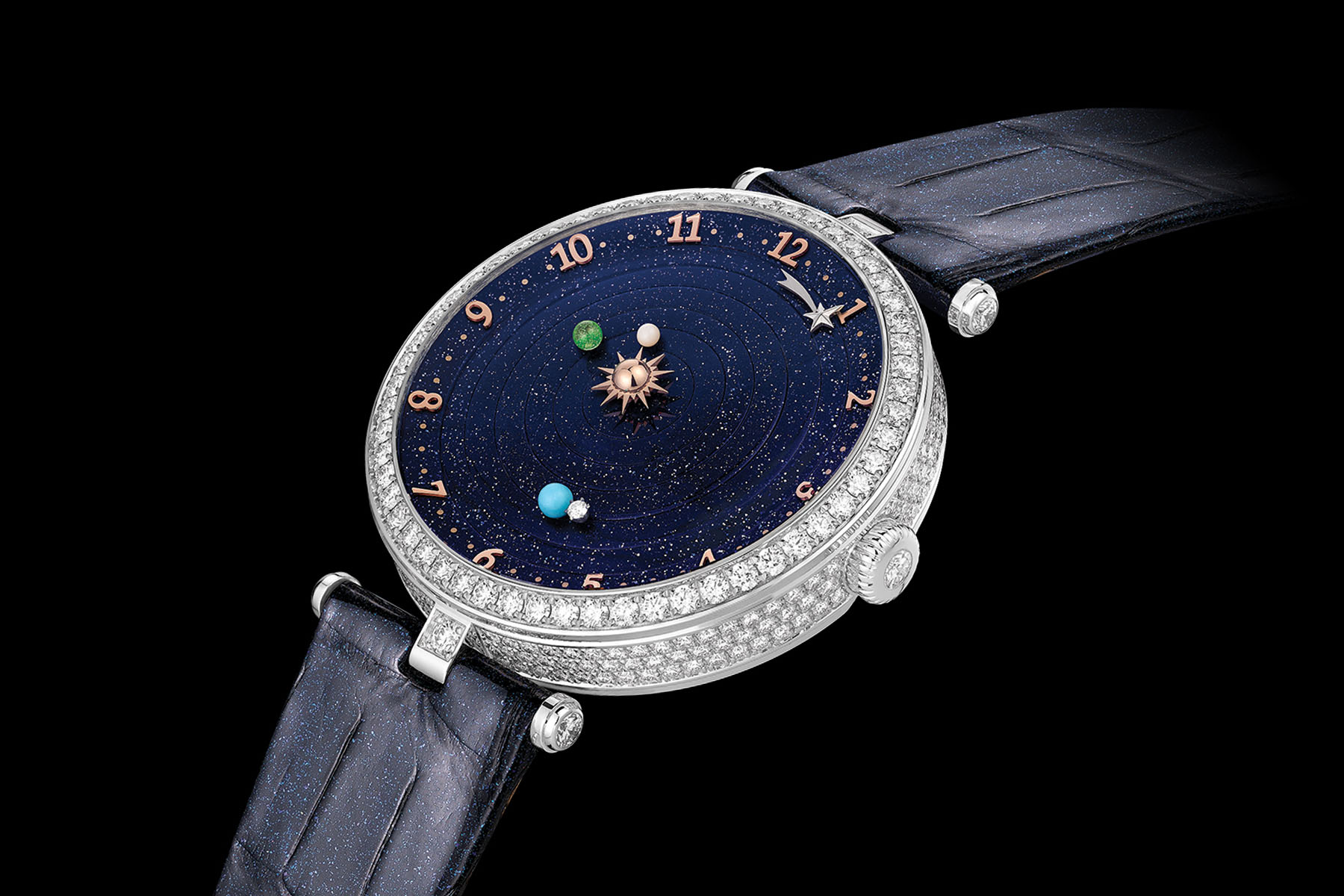 Van Cleef and Arpels Lady Arpels Planetarium - Christiaan van der Klaauw collaboration