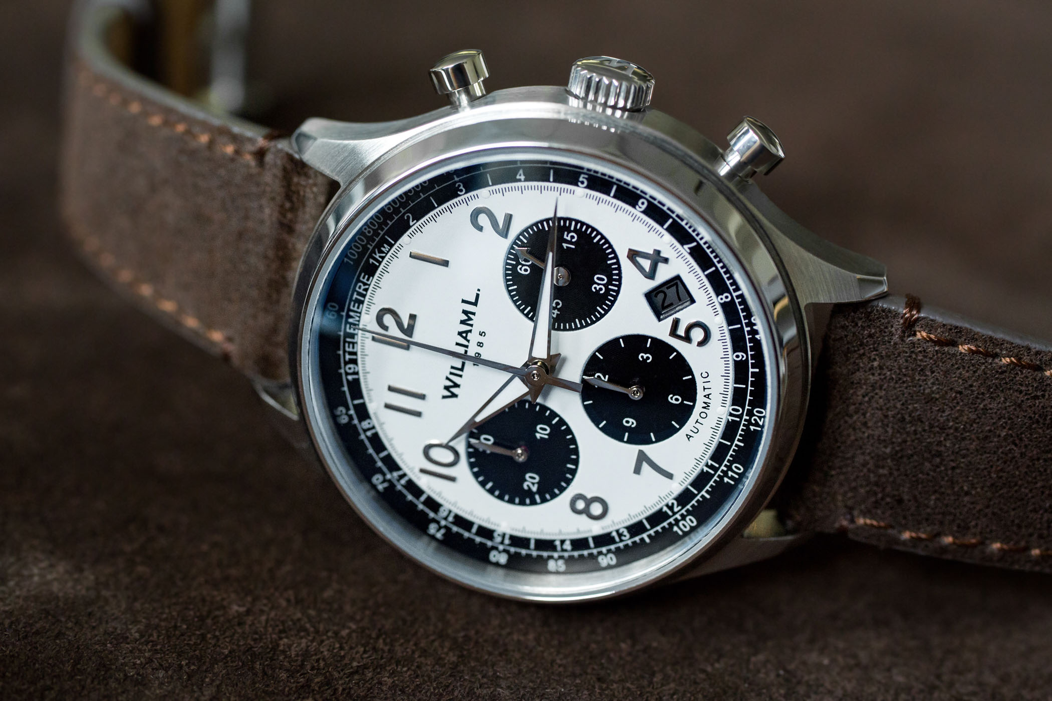 William L. 1985 Automatic Chronograph - Kickstarter
