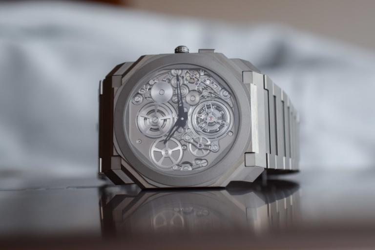 d5a1762b0 Bulgari Octo Finissimo Tourbillon Automatic - World's Thinnest Automatic  Watch and Tourbillon - Baselworld 2018 (Live Pics, Specs & Price)