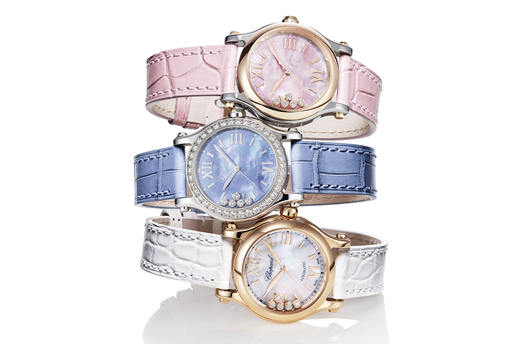 e3a0ec005 Chopard Happy Sport gets an In-House Automatic Movement for its 25th ...
