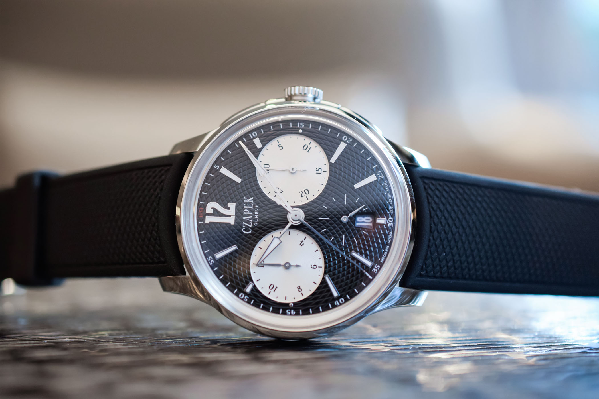Czapek Faubourg de Cracovie Chronograph - Baselworld 2018