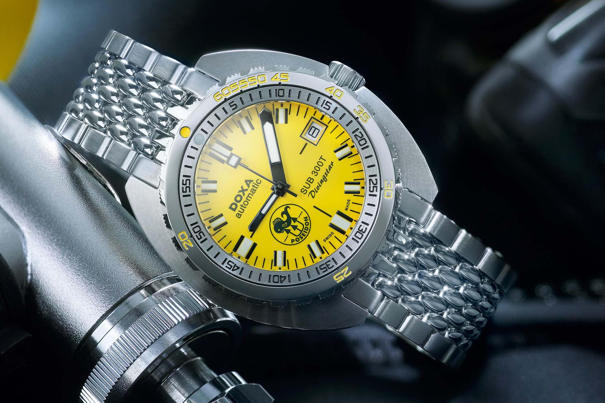 Doxa SUB 300T Divingstar Poseidon Edition