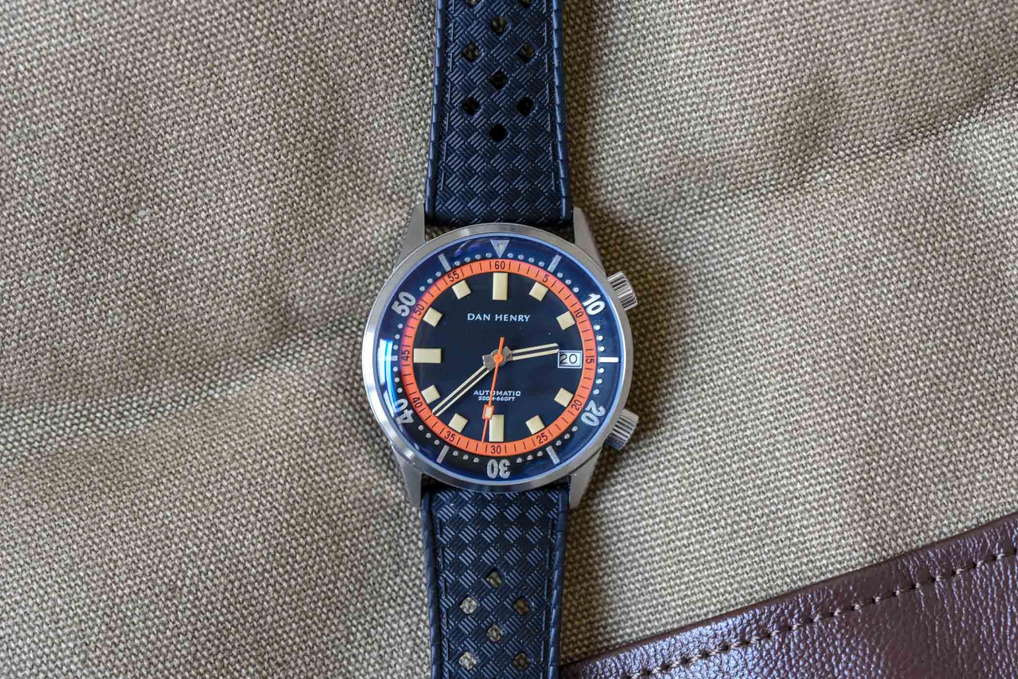 Dan Henry 1970 Automatic Diver-1219