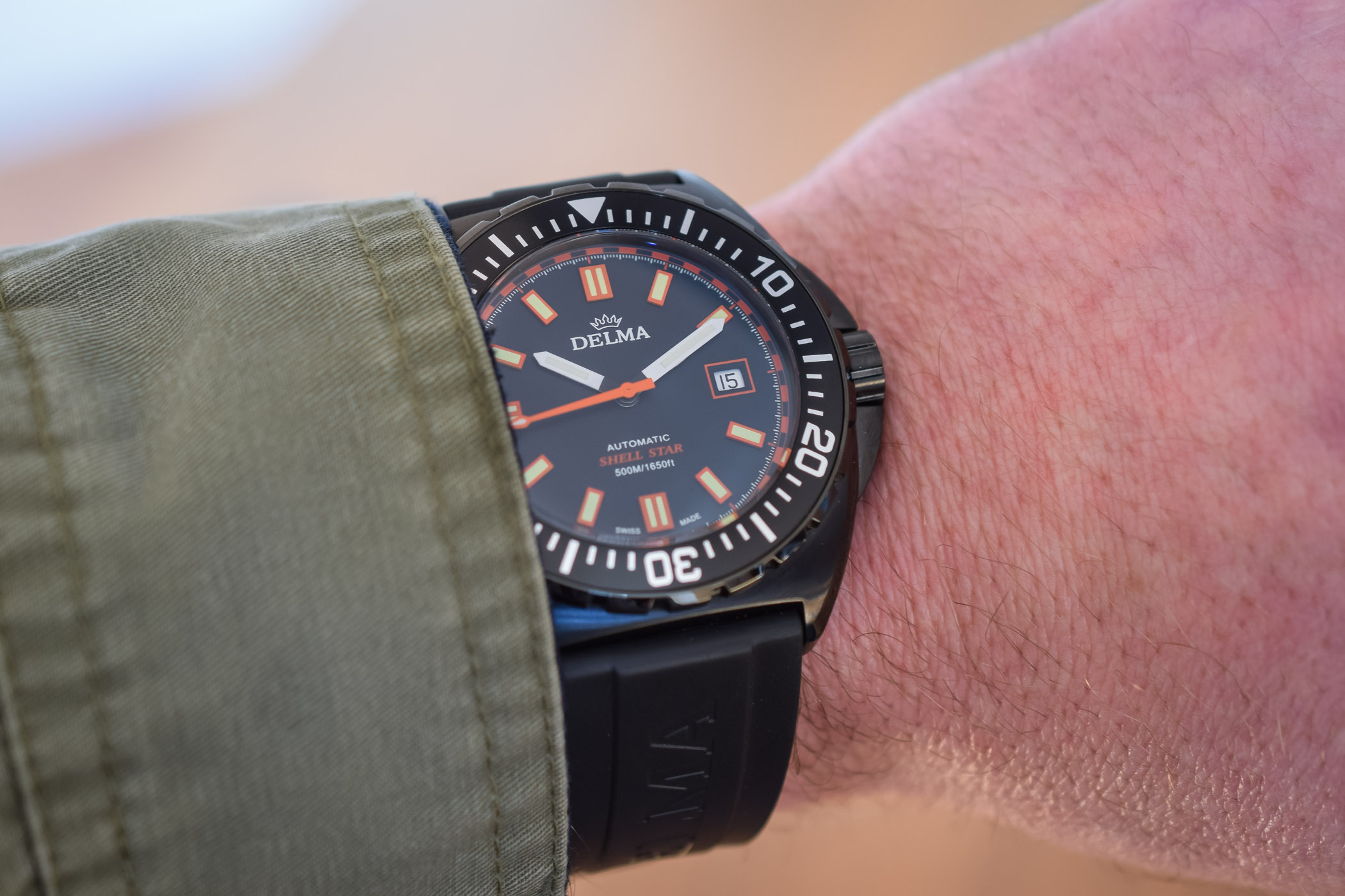 Delma Shell Star Black Tag Limited Edition - Baselworld 2018