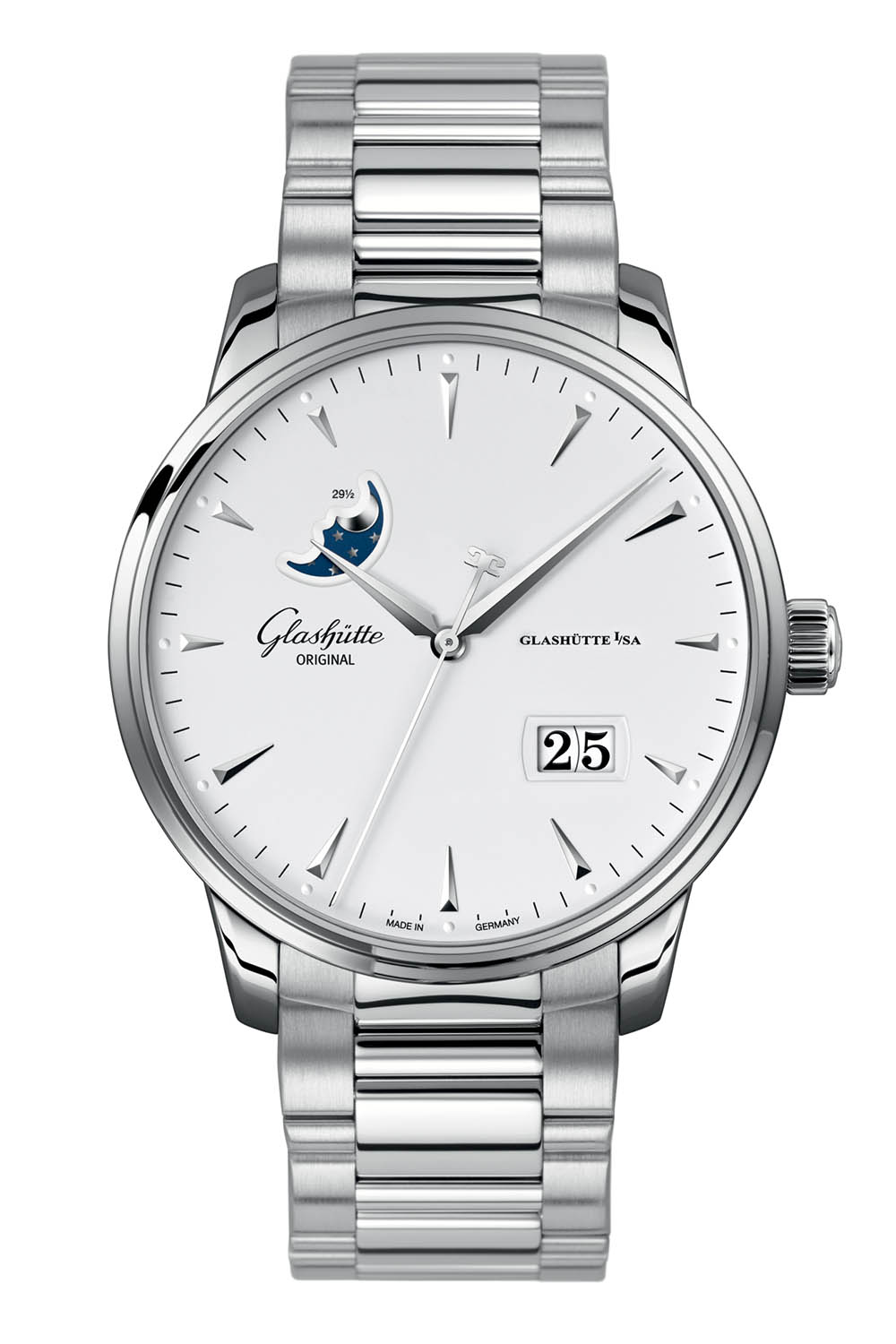 Glashutte Original Senator Excellence Date Moonphase steel 42mm - Baselworld 2018 - 3