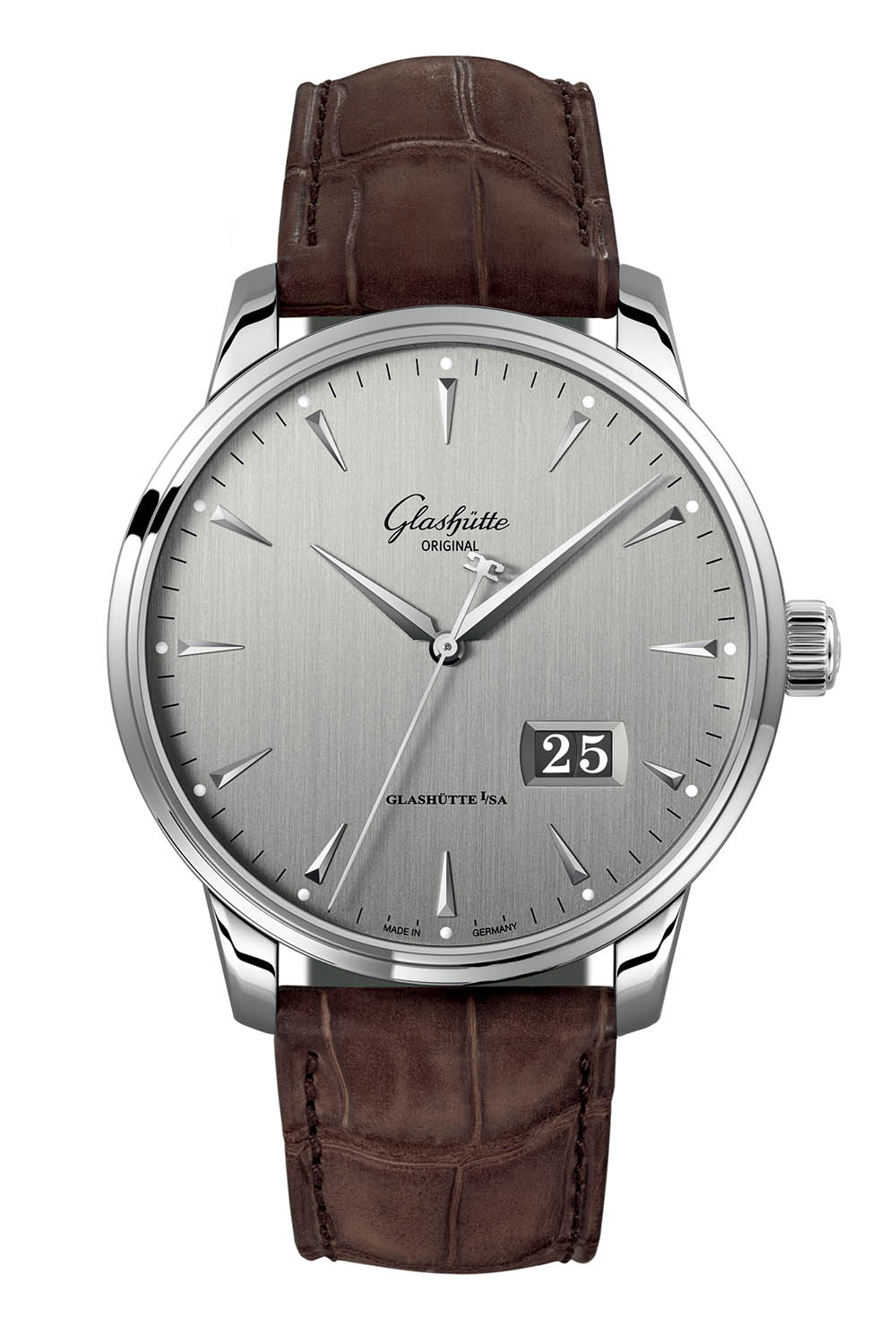 Glashutte Original Senator Excellence Panorama Date steel 42mm - Baselworld 2018 - 1
