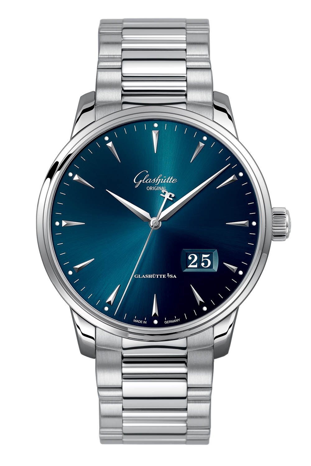 Glashutte Original Senator Excellence Panorama Date steel 42mm - Baselworld 2018 - 2