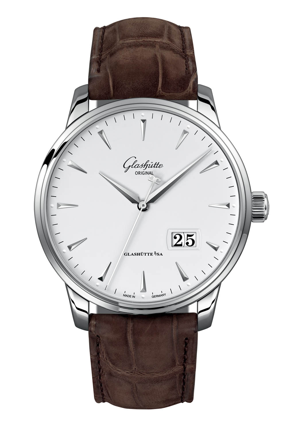 Glashutte Original Senator Excellence Panorama Date steel 42mm - Baselworld 2018 - 3