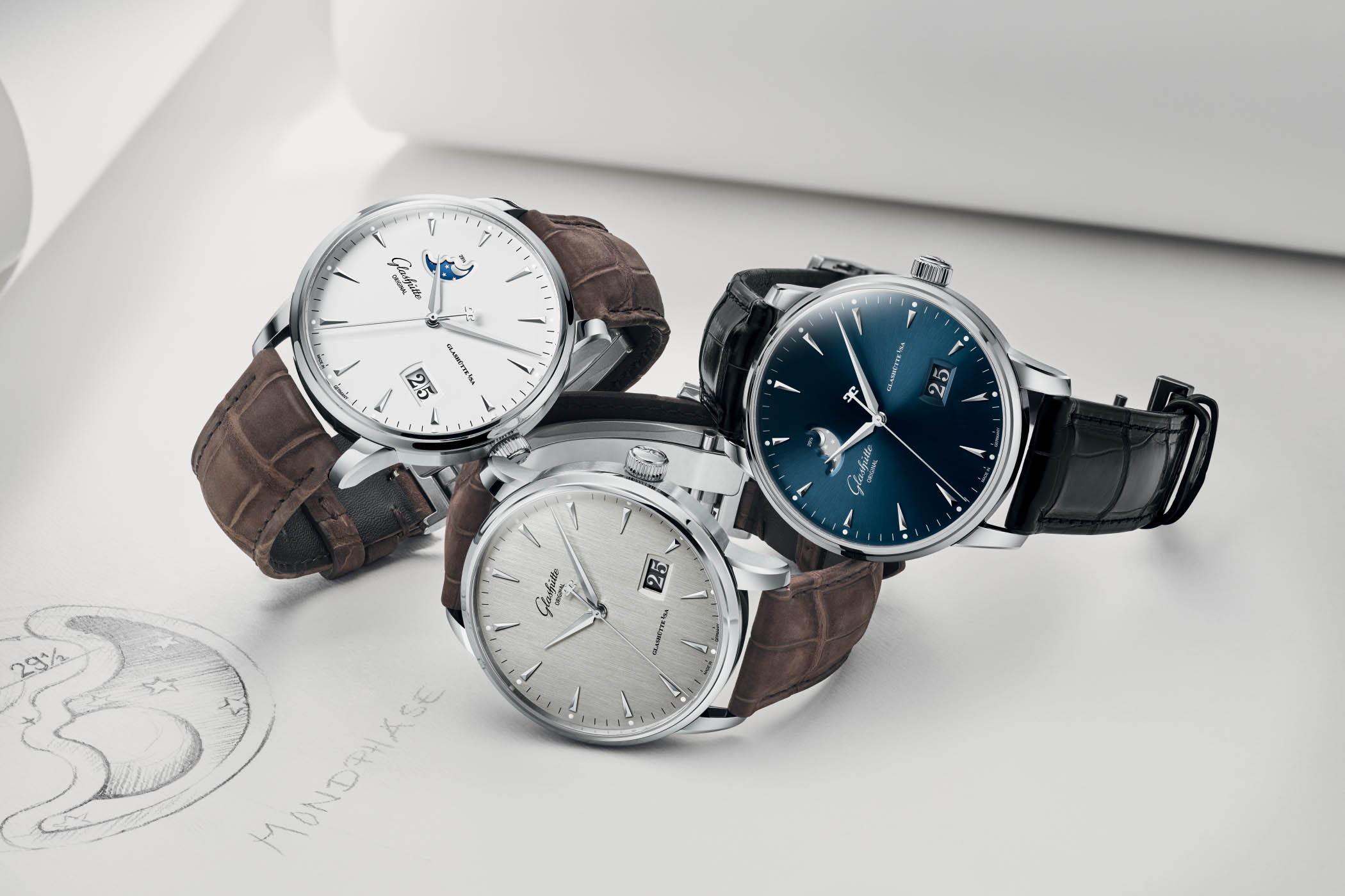 Glashutte Original Senator Excellence steel 42mm - Baselworld 2018