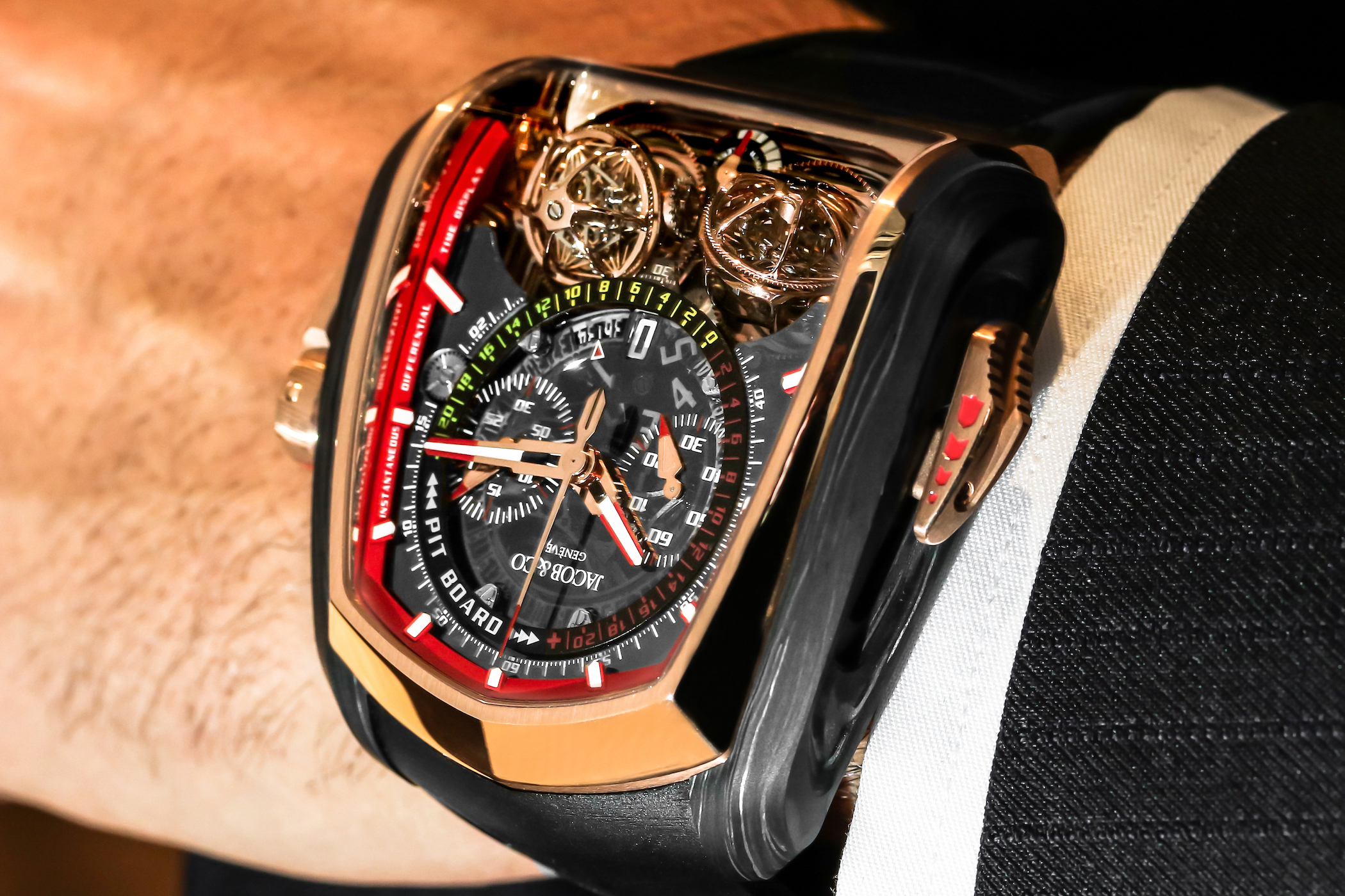 Jacob and Co Twin Turbo Furious - Baselworld 2018 - 12