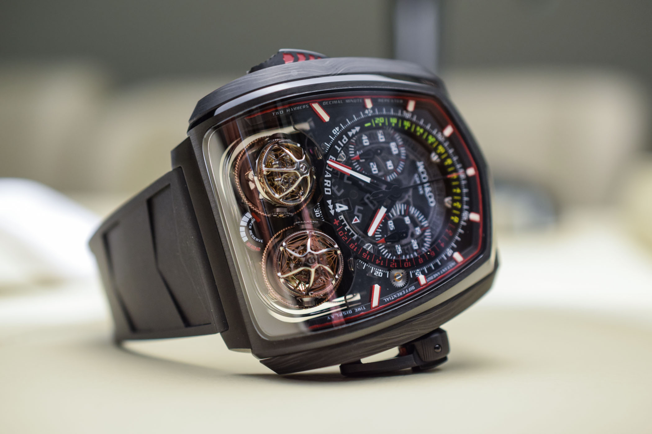 Jacob and Co Twin Turbo Furious - Baselworld 2018