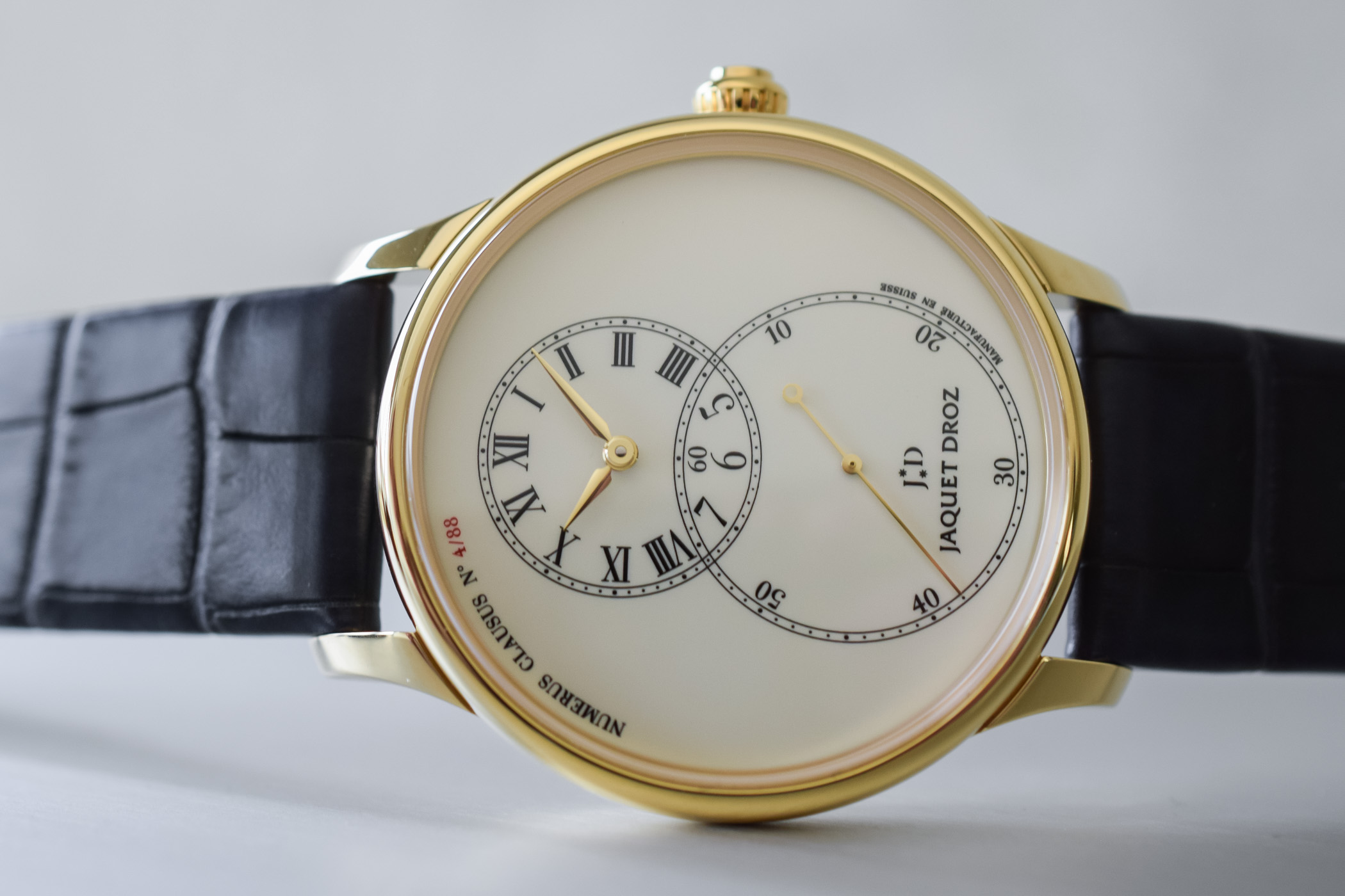 Jaquet Droz Grande Second Tribute Yellow Gold - Baselworld 2018
