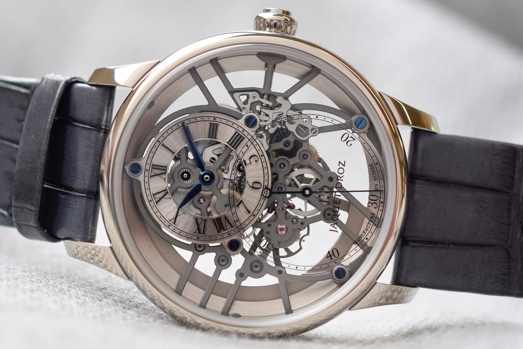Jaquet Droz Grande Seconde Skelet-One - Baselworld 2018