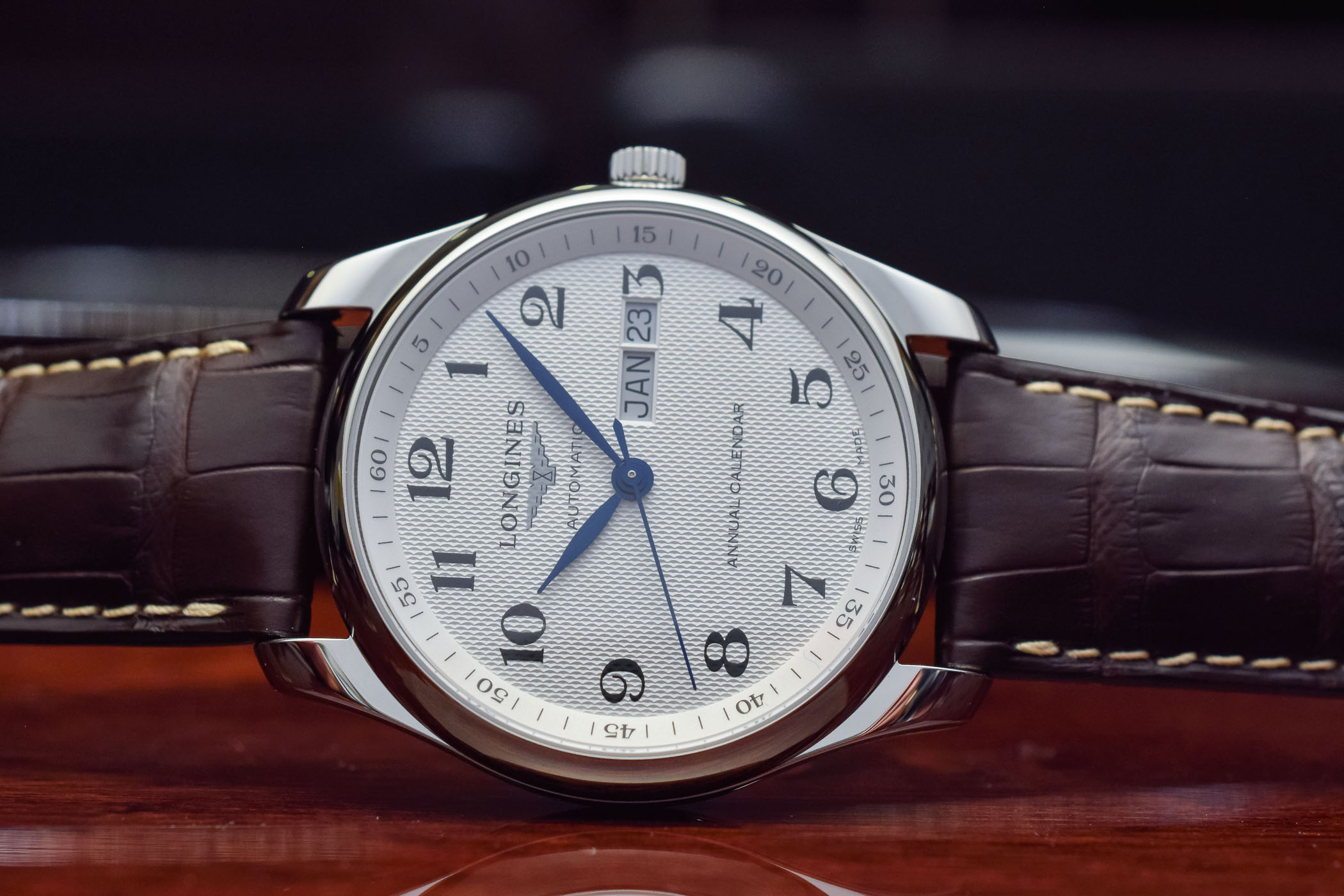 Longines Master Collection Annual Calendar - Affordable Watches Baselworld 2018