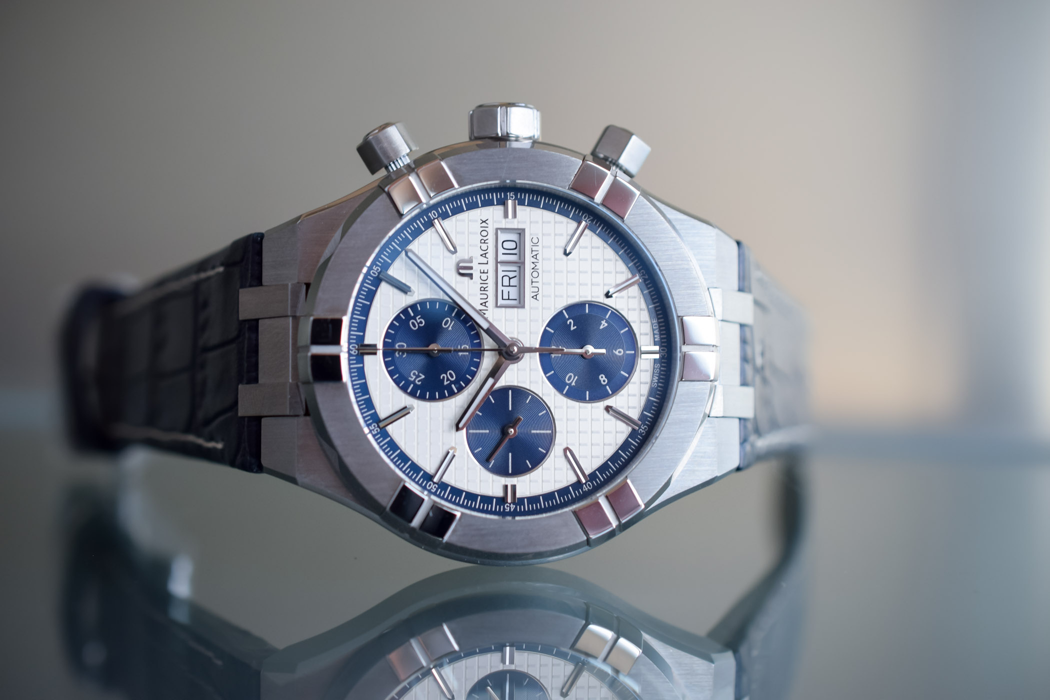 Maurice Lacroix Aikon Automatic chronograph - Baselworld 2018 - 14