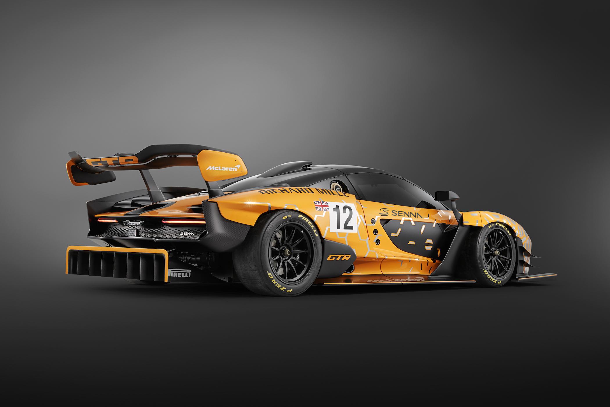 McLaren Senna GTR Concep