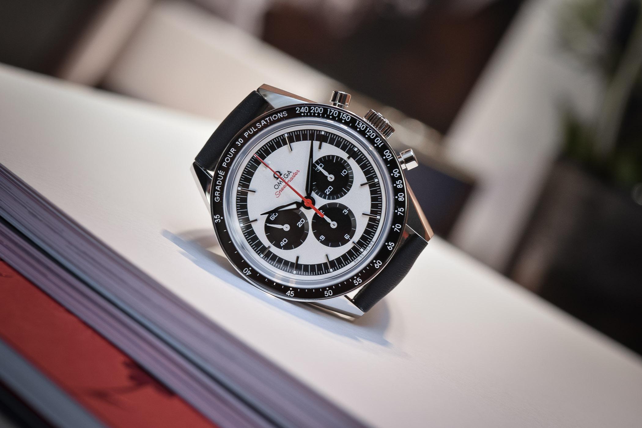 Omega Speedmaster CK2998 Pulsometer Panda 311.32.40.30.02.001 - Baselworld 2018