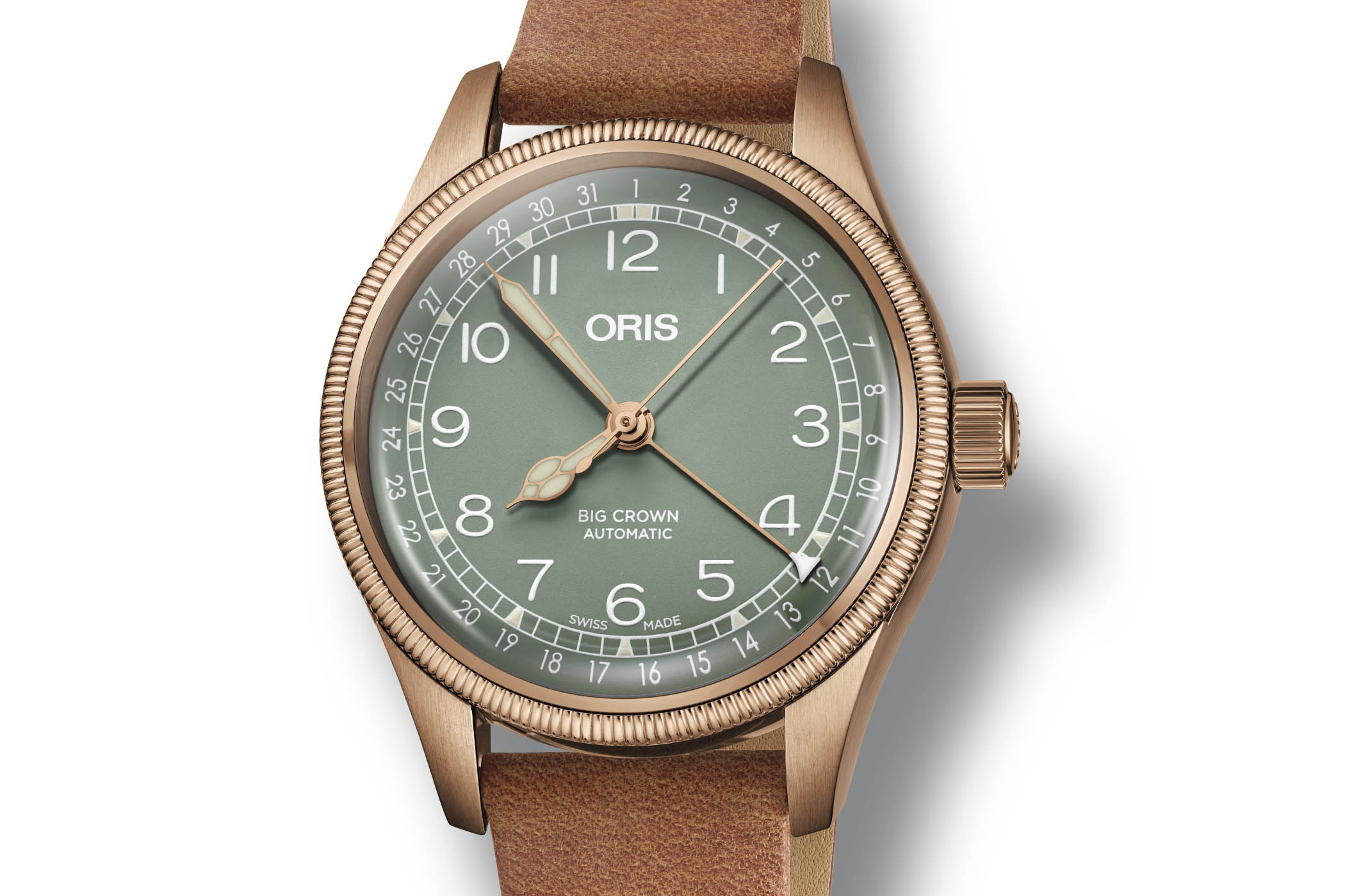 Oris Big Crown Pointer Date Bronze 36mm - Baselworld 2018