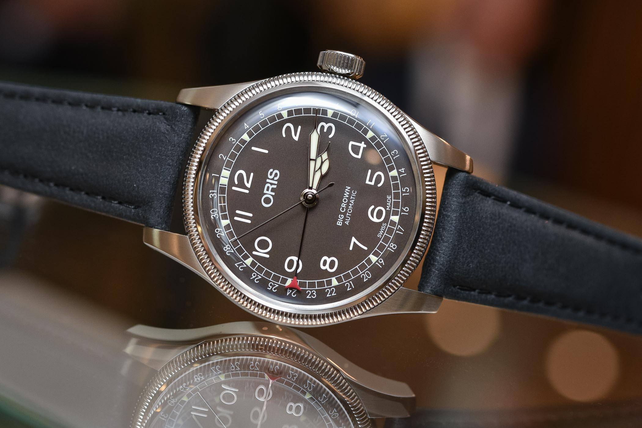 Oris Big Crown Pointer Date Steel - Affordable Watches Baselworld 2018